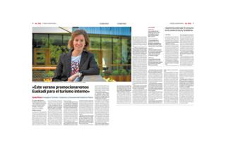 Entrevista diario vasco 26 04 2020