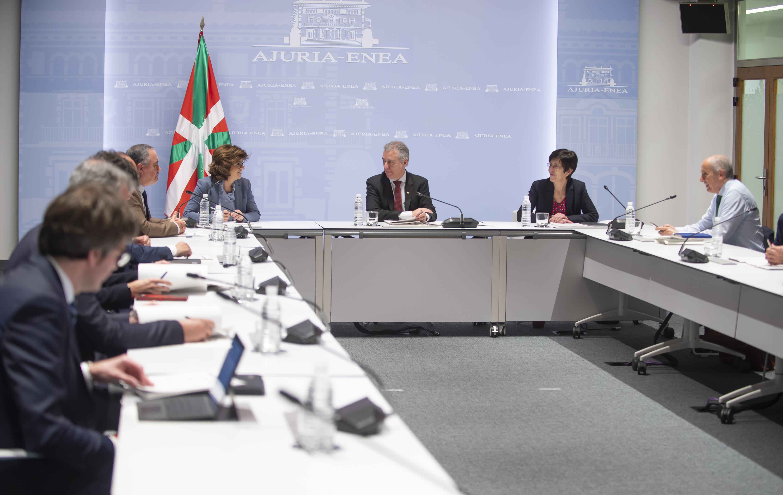 El Lehendakari pide al Gobierno de Sánchez coordinación y comunicación [12:24]