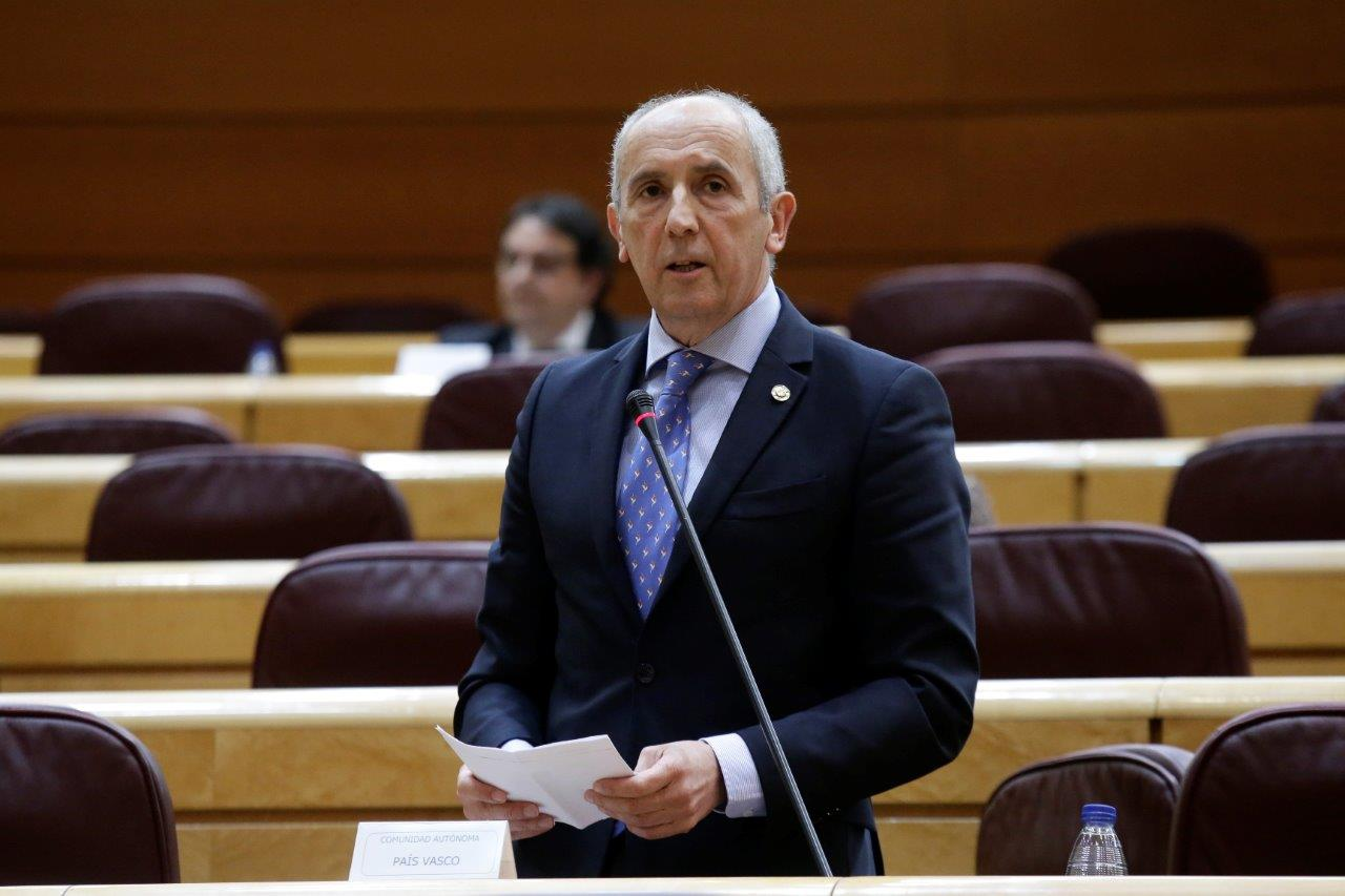 Josu Erkoreka pide al Gobierno español que sean las comunidades autónomas las que gestionen la fase de desescalada