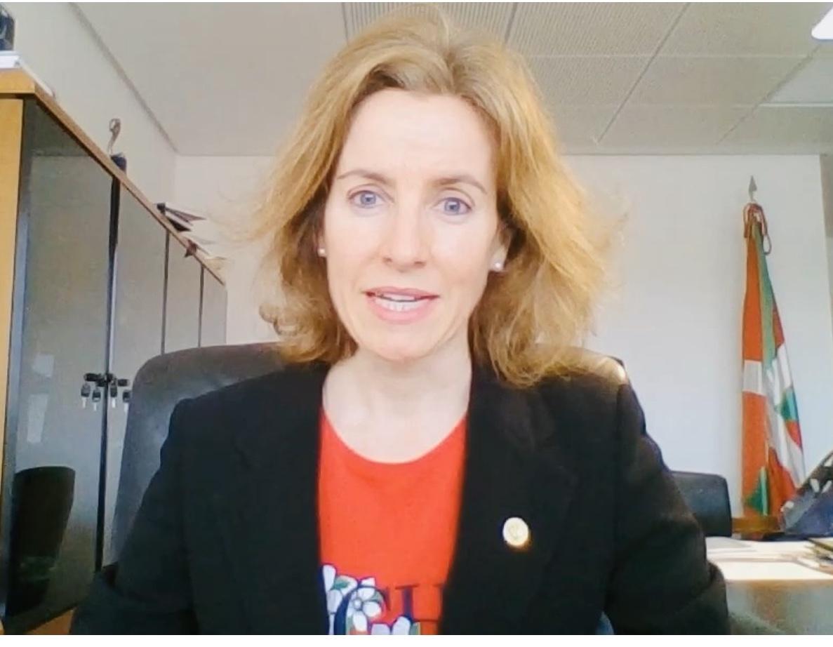 La Consejera Sonia Pérez Ezquerra analiza el futuro del turismo MICE en Euskadi