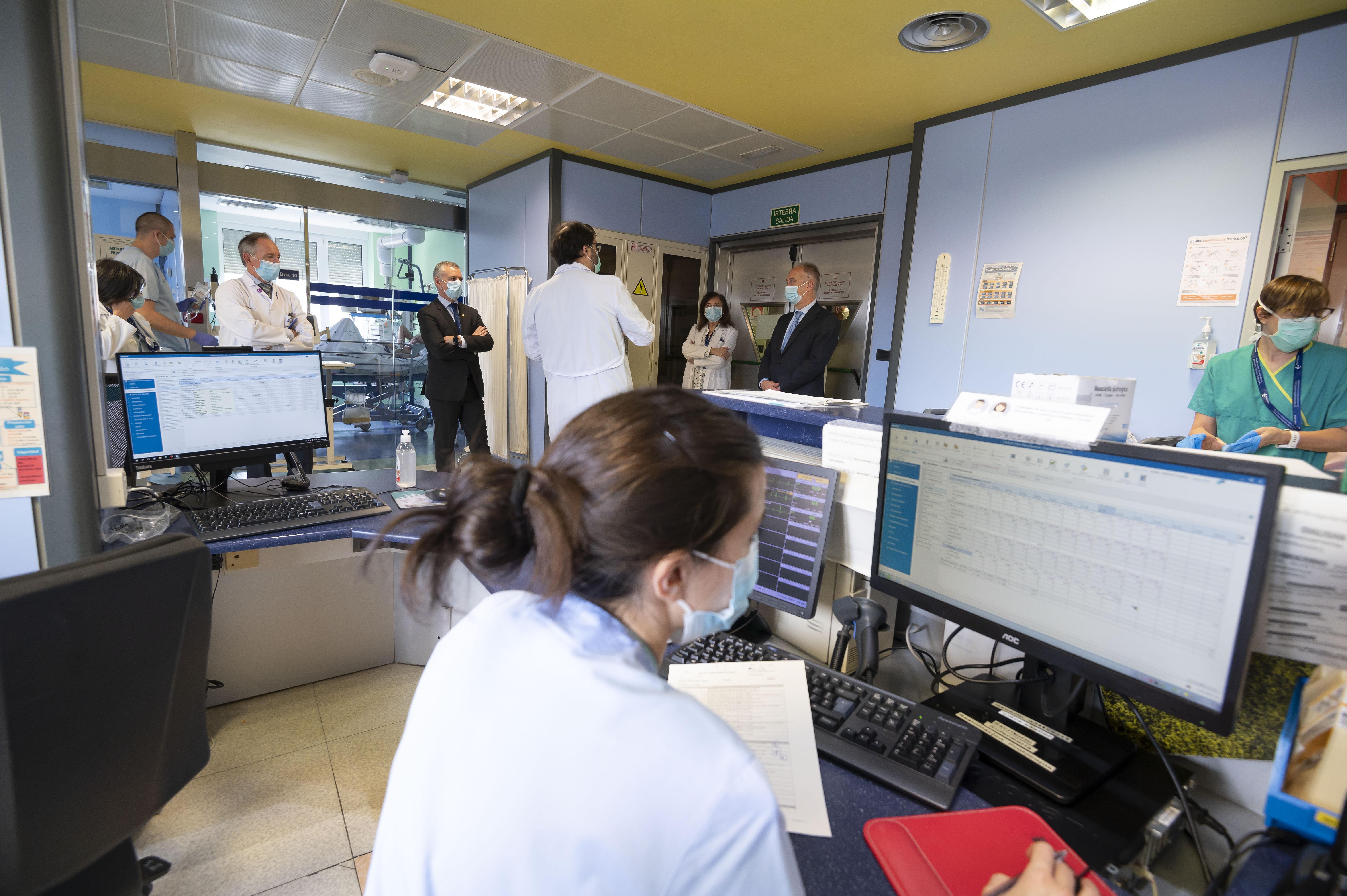 """El Lehendakari pide """"máxima prudencia y rigor"""" en el primer día de la fase uno en Euskadi para """"evitar desmontar el esfuerzo realizado"""" [4:10]"""