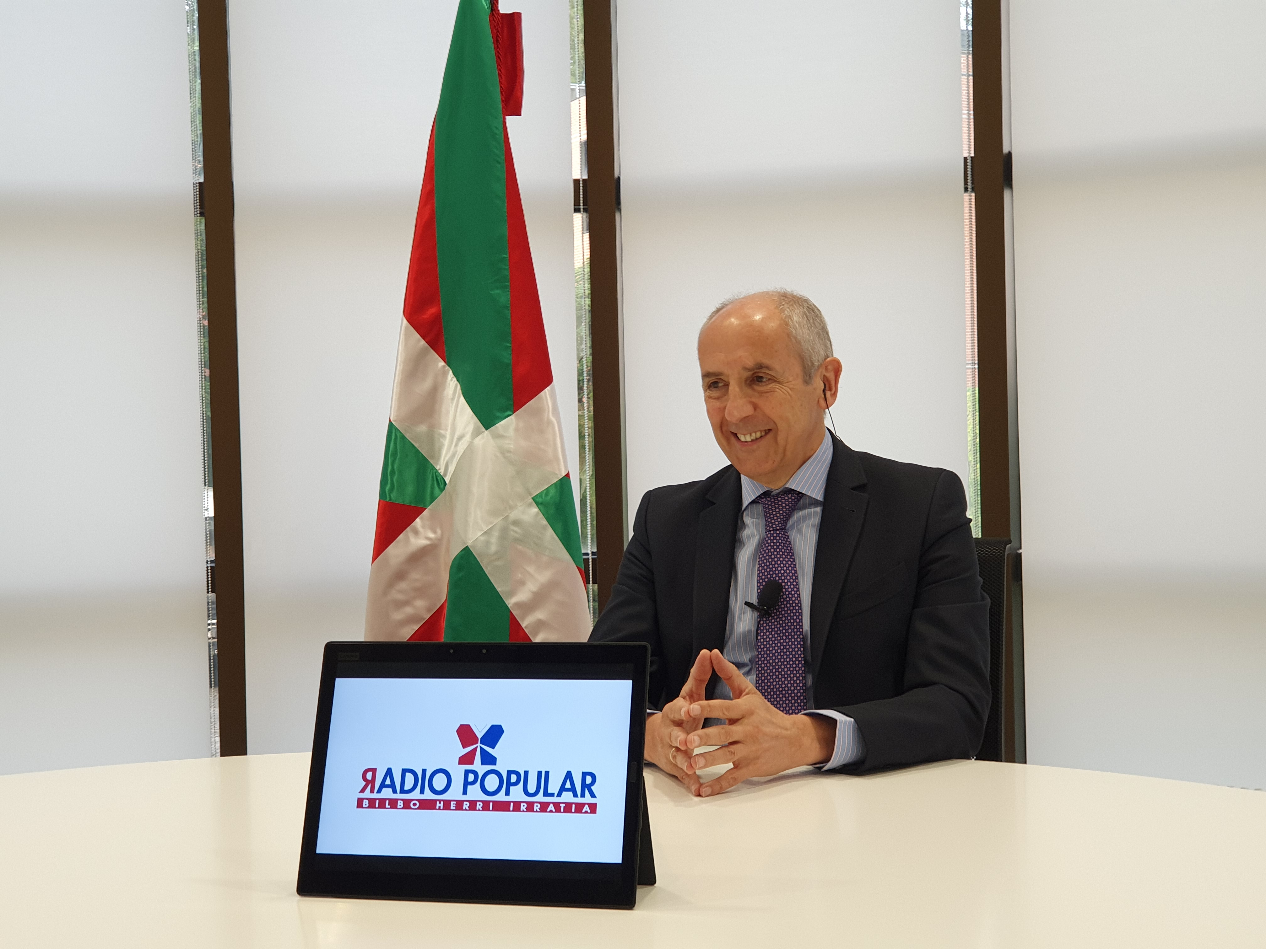 """Josu Erkoreka ha sido entrevistado en el programa """"Egunon Bizkaia"""" de Radio Popular"""