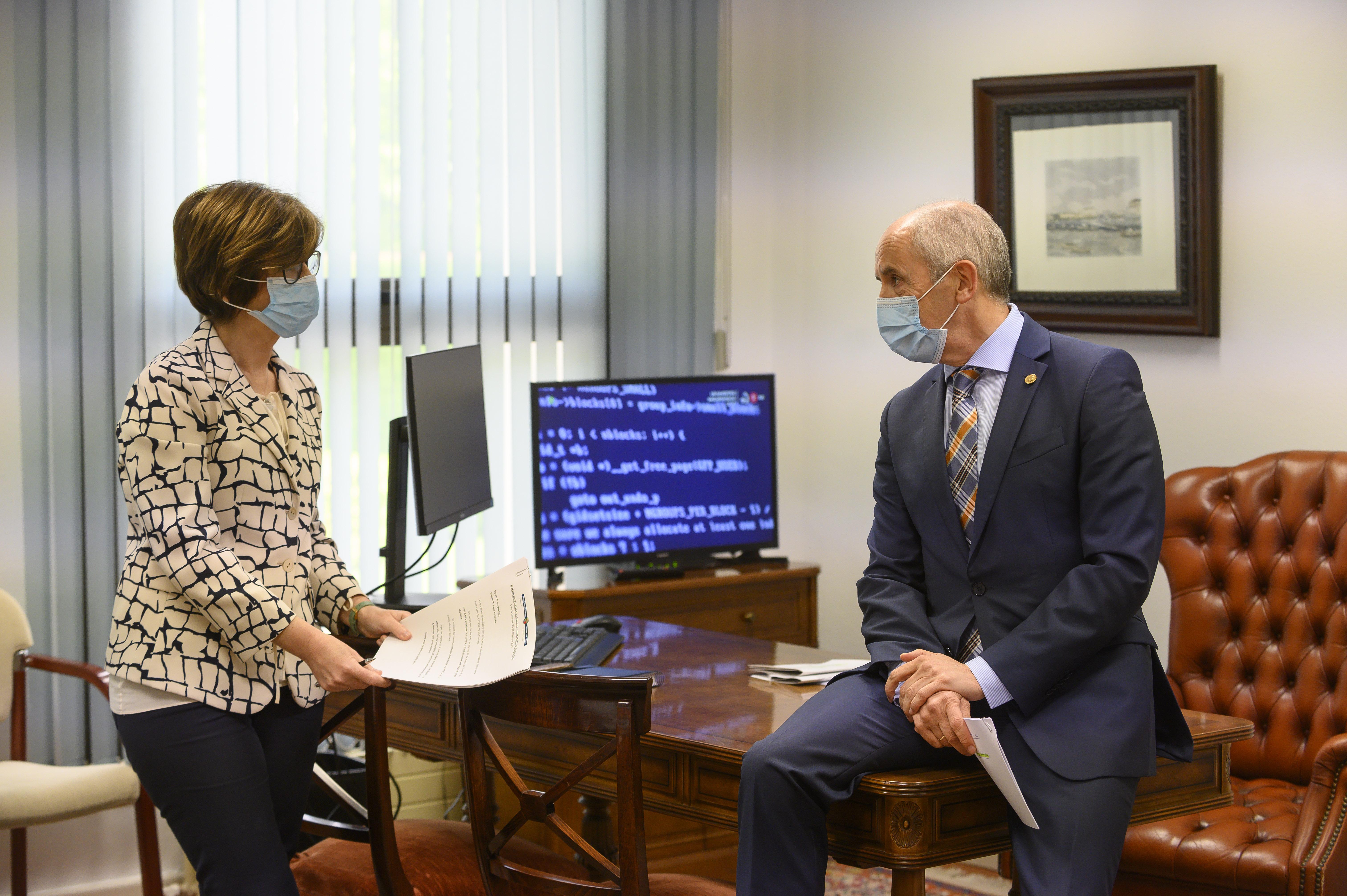 Eusko Jaurlaritzak eta Espainiako Gobernuak Transferentzien Batzorde Mistoa egingo dute ekainean hiru gai eskualdatzeko [58:20]