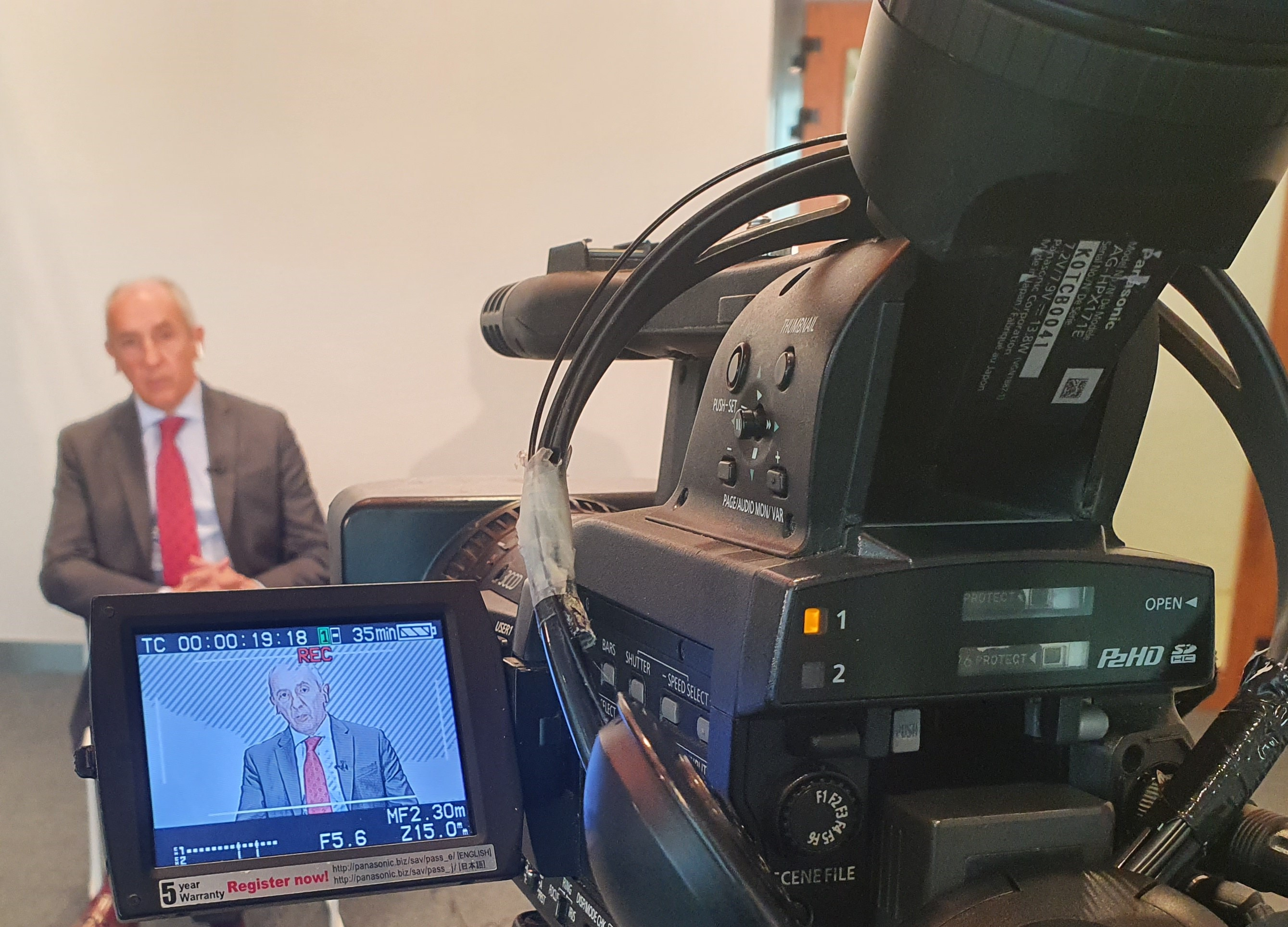 "Entrevista a Josu Erkoreka en el programa ""Egun on Euskadi"" de ETB1"
