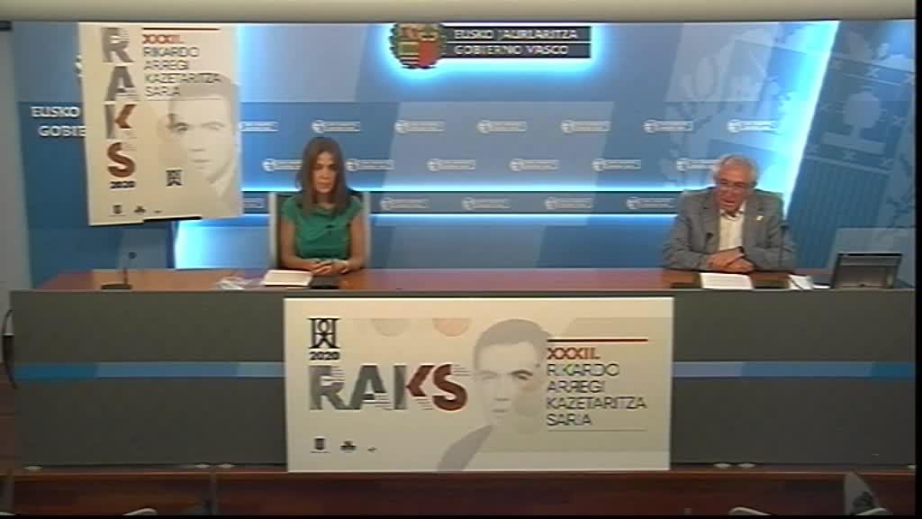 La 32 edición del Premio Rikardo Arregi de Periodismo homenajeará a Xabier Lete [26:47]