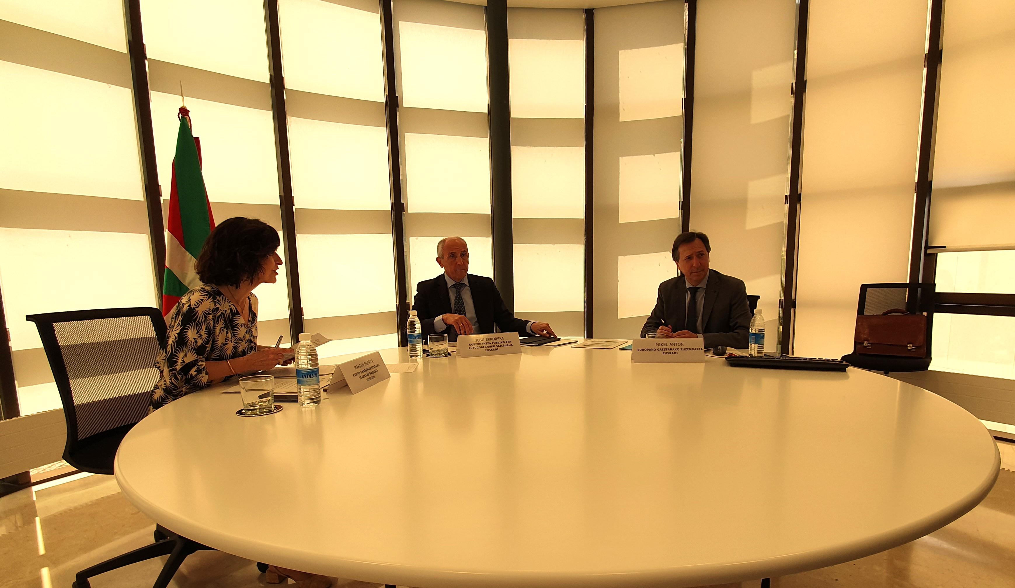 Intervención de Josu Erkoreka en la Conferencia para Asuntos Relacionados con la Unión Europea (CARUE)