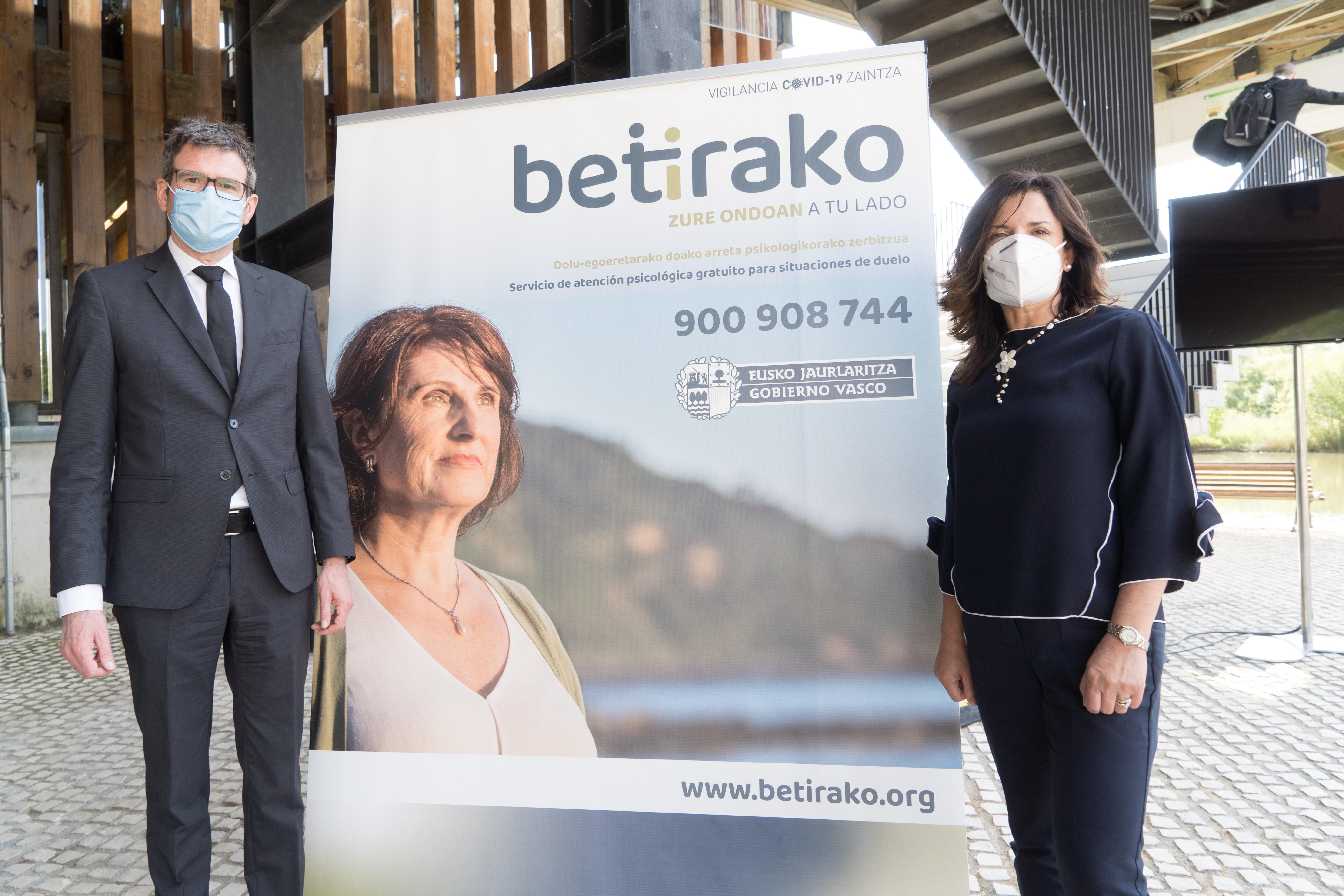 El Gobierno Vasco pone en marcha el programa Betirako, de atención al duelo para personas que han perdido a seres queridos por el covid-19
