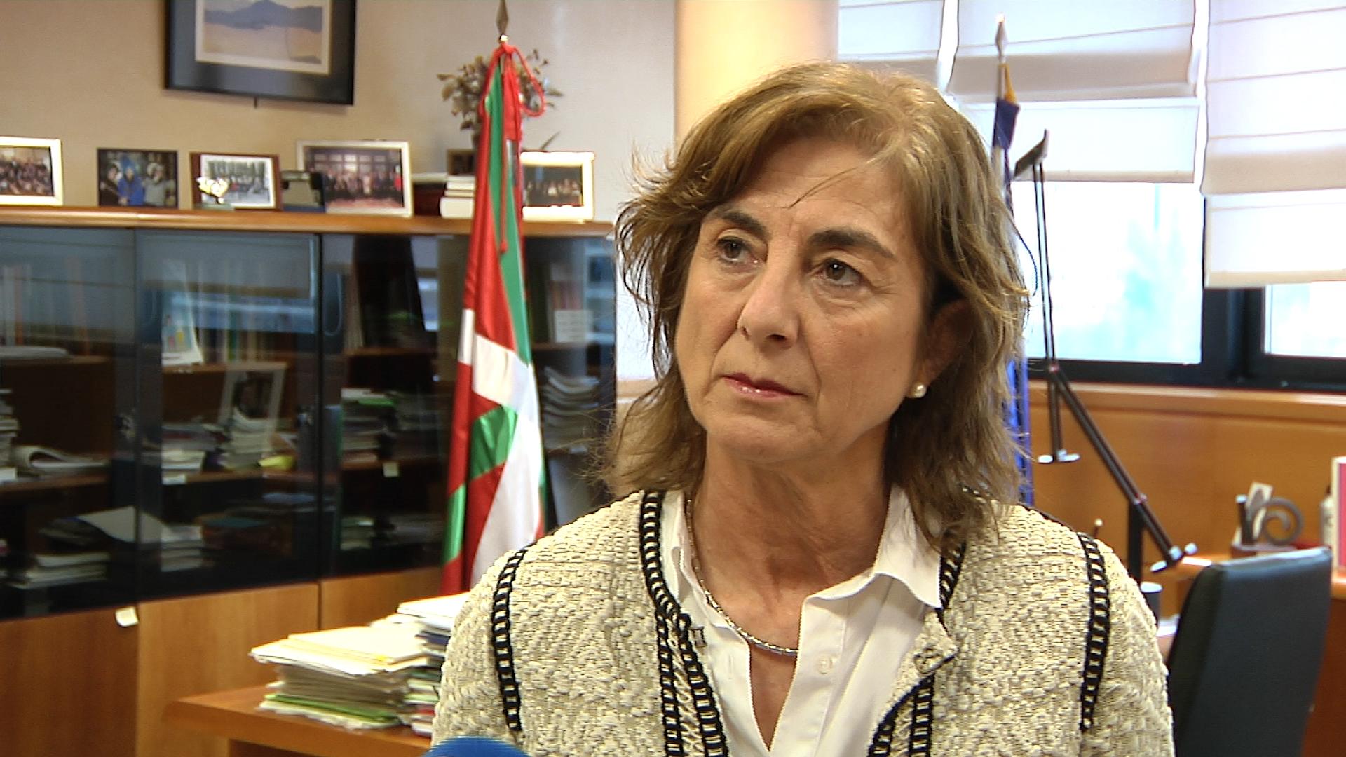 Declaraciones de Cristina Uriarte tras la reunión Sectorial de Educación