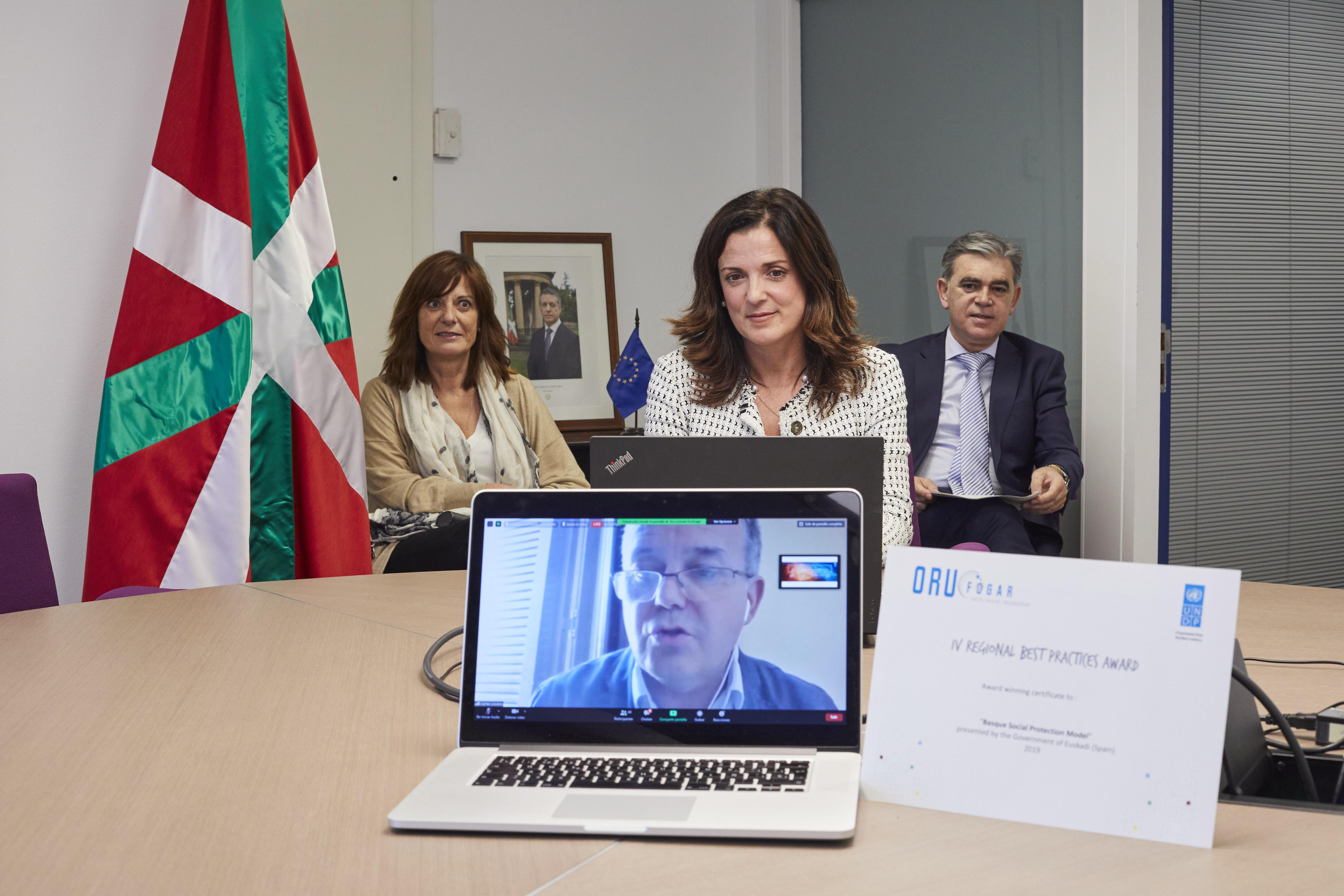 El modelo de protección social del Gobierno Vasco, reconocido internacionalmente