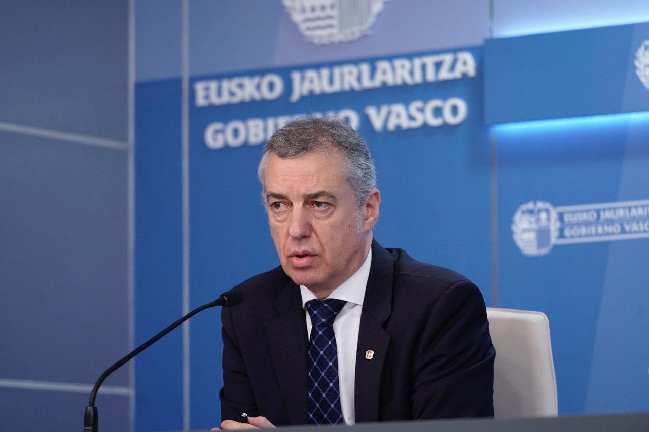 Lehendakariak 140 milioi euroko programak iragarri ditu Euskadin enplegu-sorrera sustatzeko [60:11]