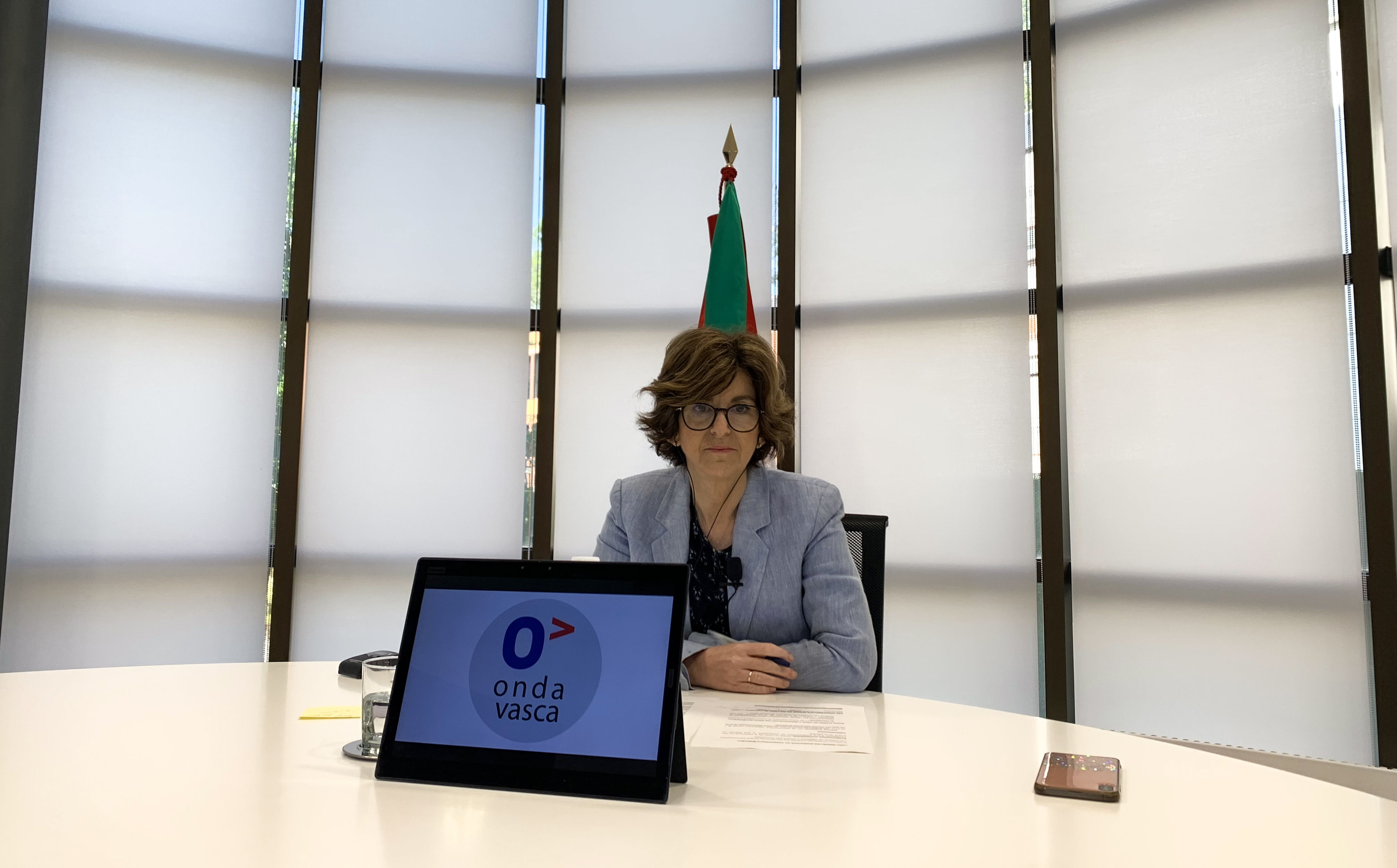 La Consejera de Salud, Nekane Murga, ha sido entrevistada en Onda Vasca