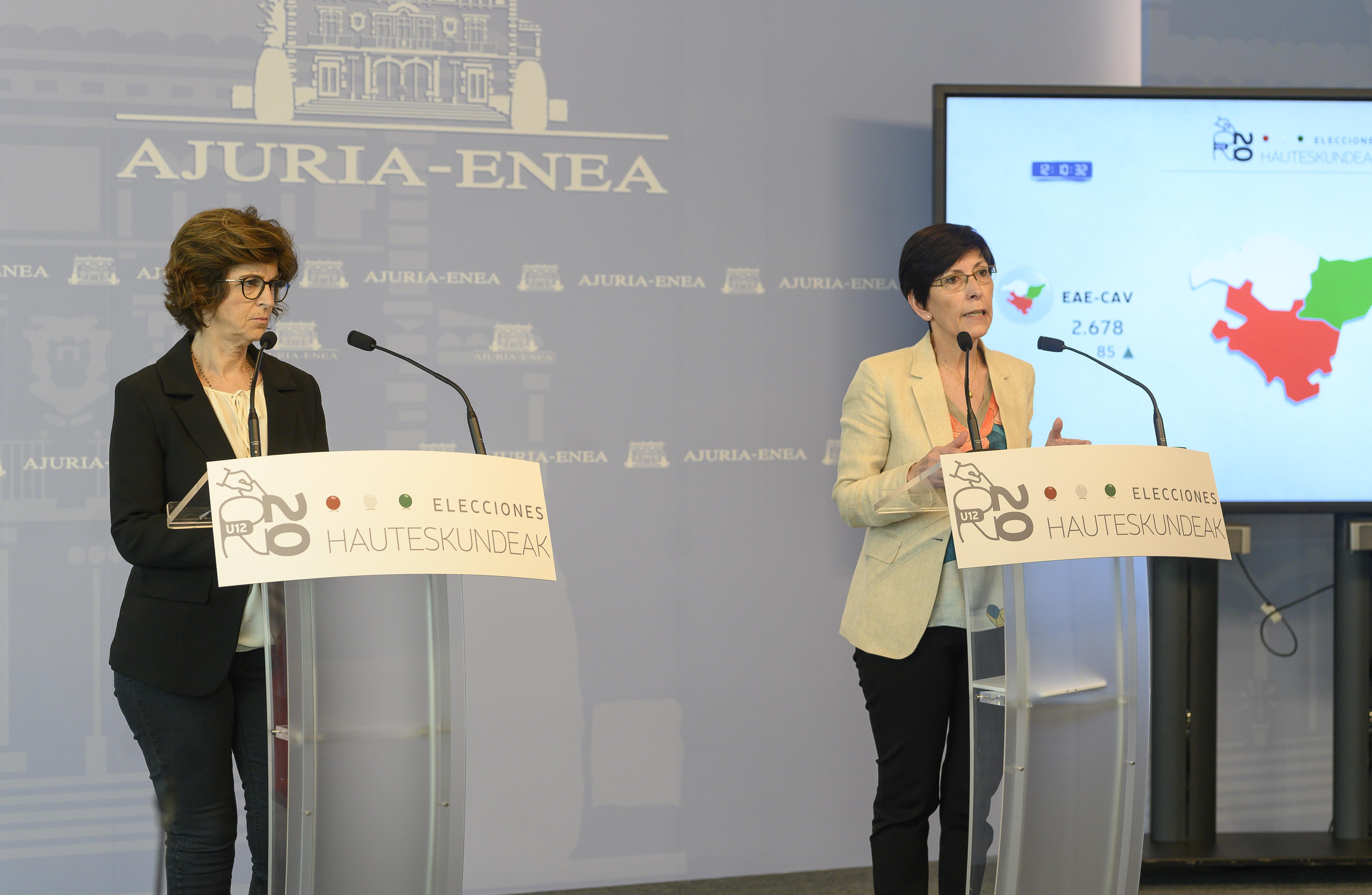 Más de tres mil quinientas personas integran el dispositivo para la recogida y difusión del escrutinio electoral del 12-J [0:00]