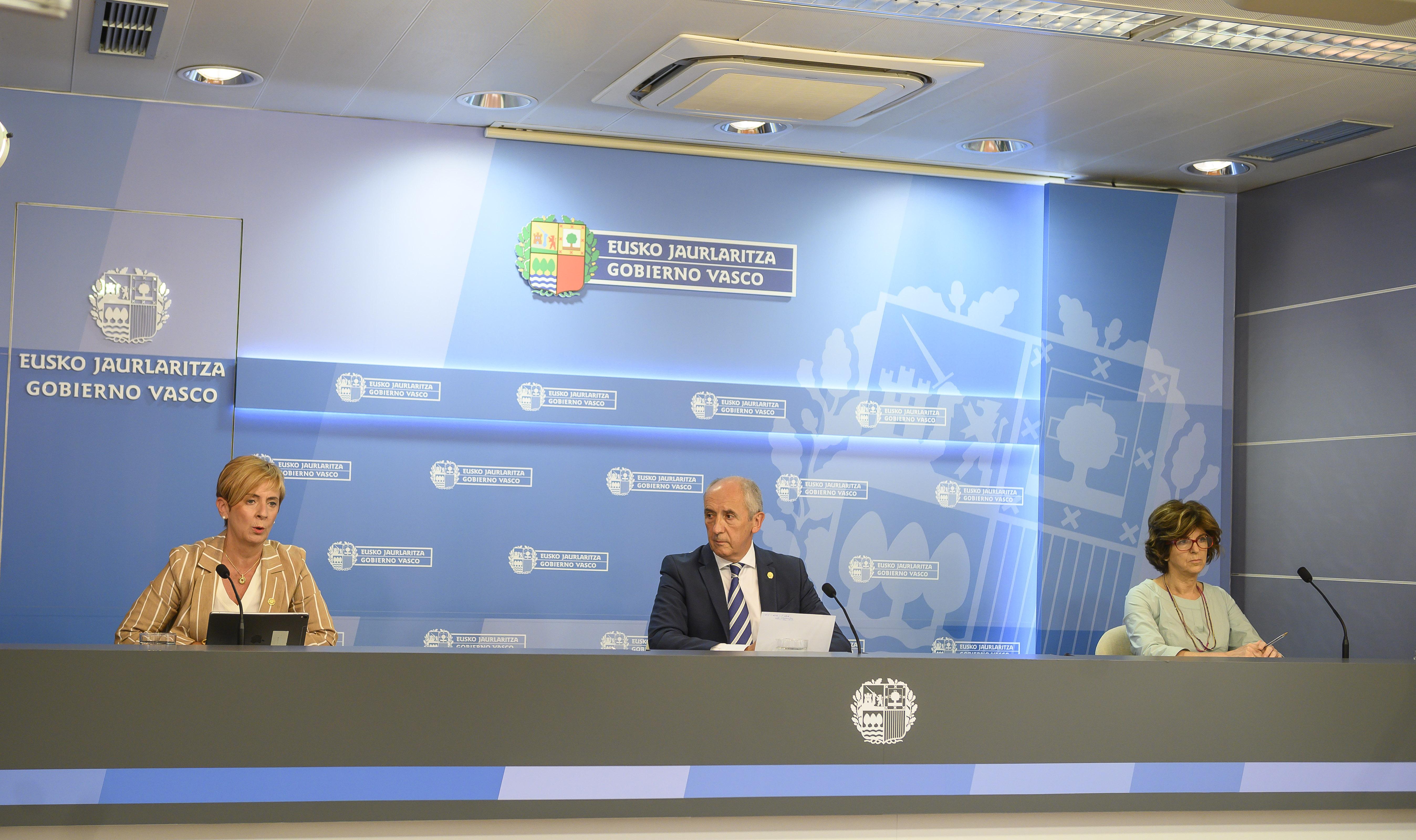 """Josu Erkoreka: """"El Gobierno Vasco agradece la confianza depositada por una gran mayoría de la ciudadanía que ha respaldado su labor realizada durante estos cuatro años"""""""