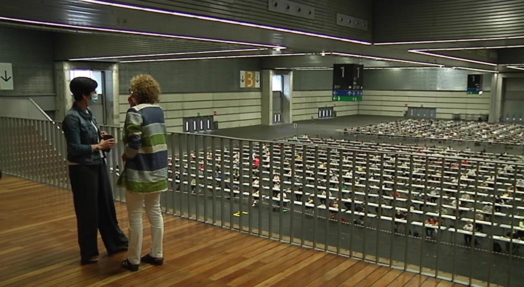 Un total de 4190 personas acuden a las pruebas selectivas para optar a una de las 700 plazas de Ertzaintza y a otras 111 de Policía Local