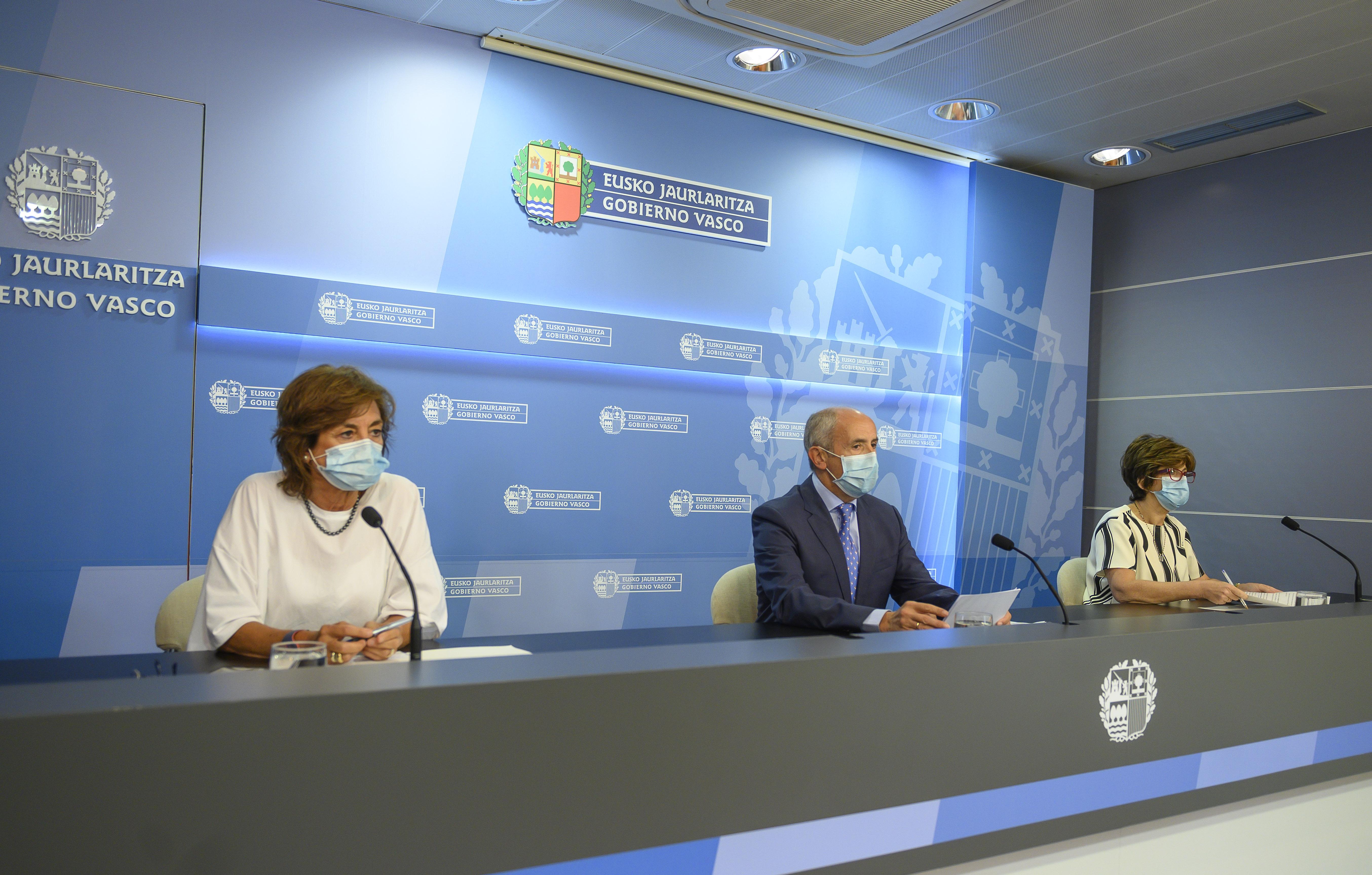 El Gobierno Vasco trabaja para garantizar que la vuelta a clase en septiembre sea segura para toda la comunidad educativa