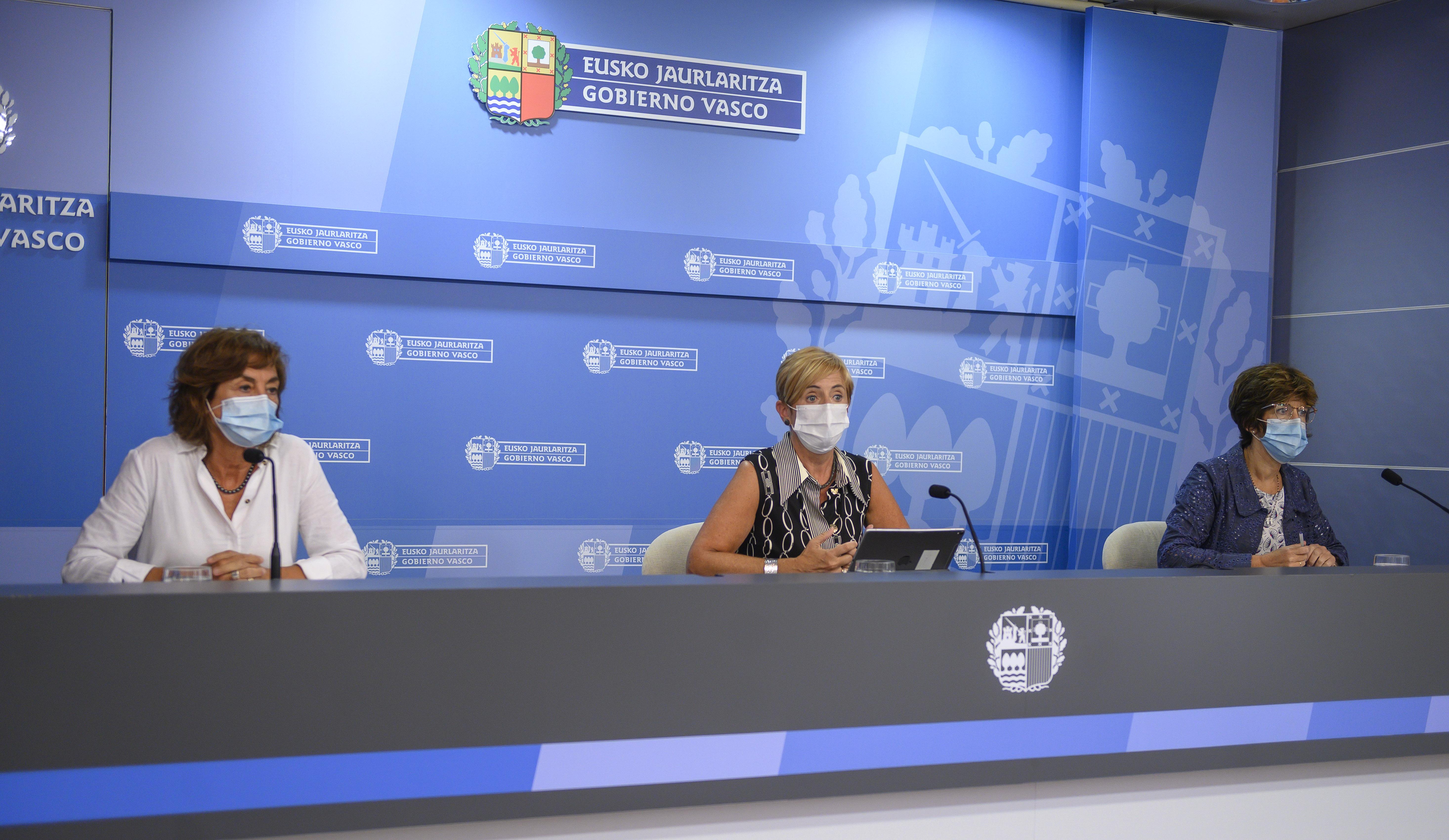 Nuevas medidas del Gobierno Vasco para frenar la expansión de la Covid-19 [0:00]