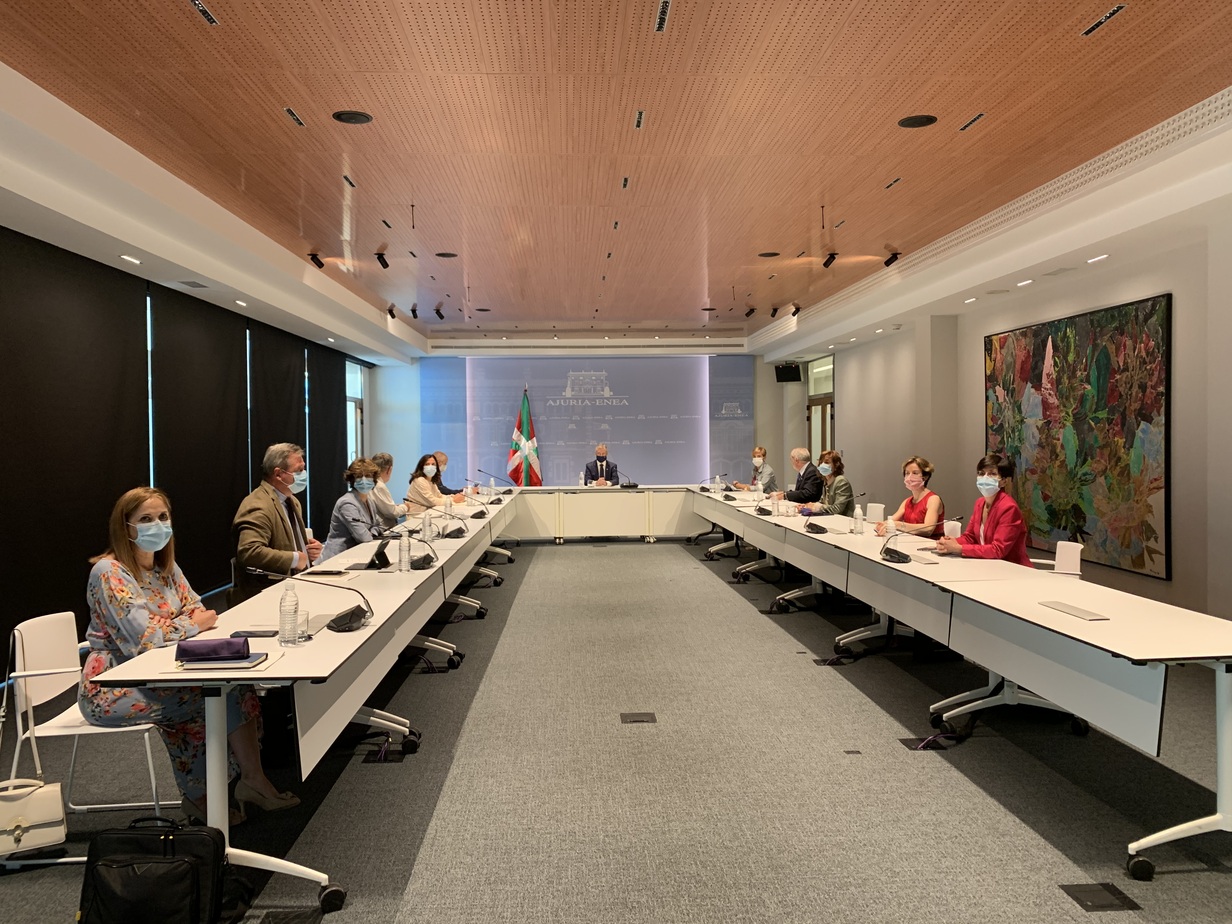 El Lehendakari preside la última reunión del Consejo de Gobierno de la XI Legislatura [0:00]