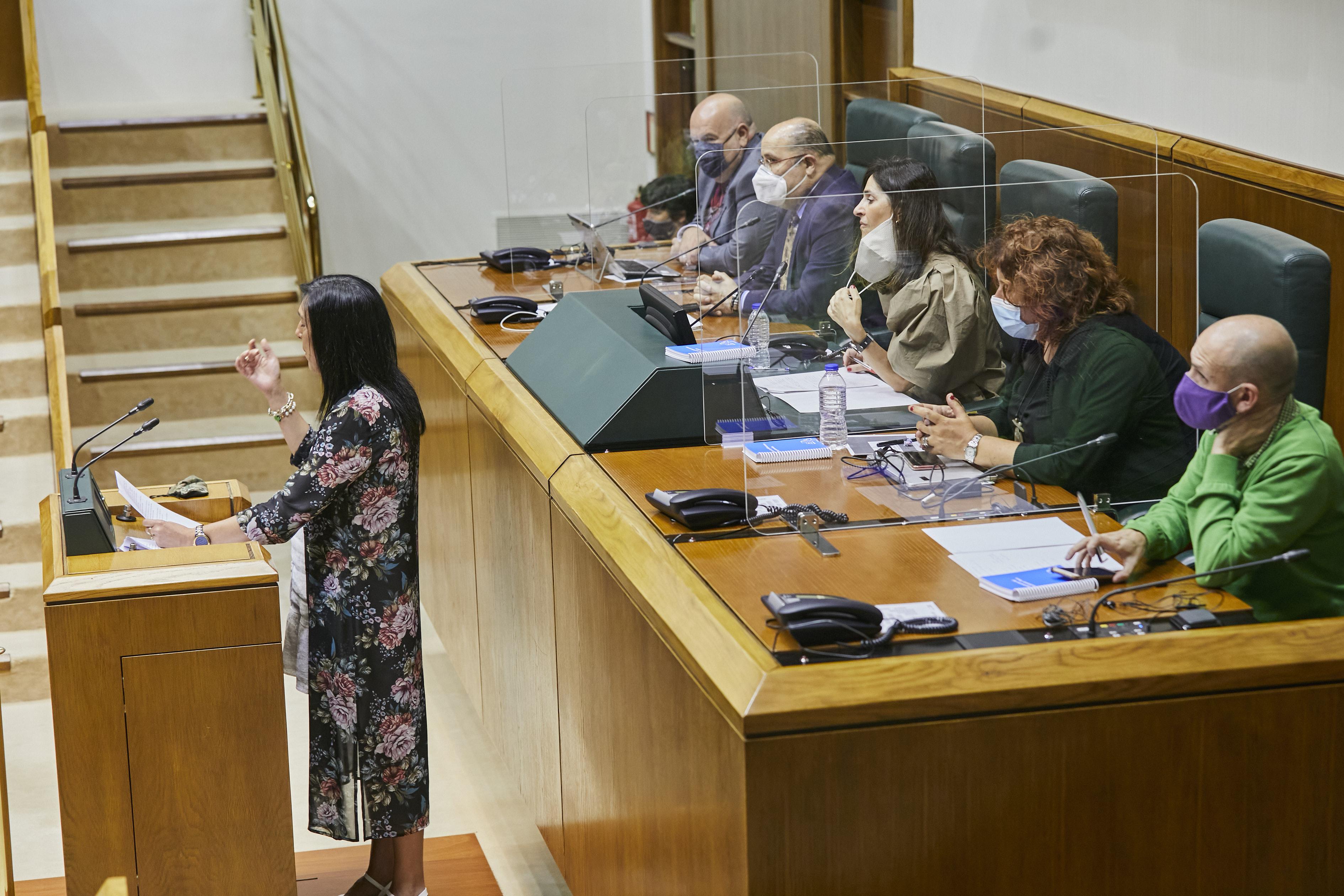 Ohiko osoko bilkura. Eusko Jaurlaritzako lehendakaria hautatzea [0:00]