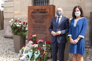 Artolazabal participa en el homenaje a todas las personas represaliadas por la dictadura franquista en Álava