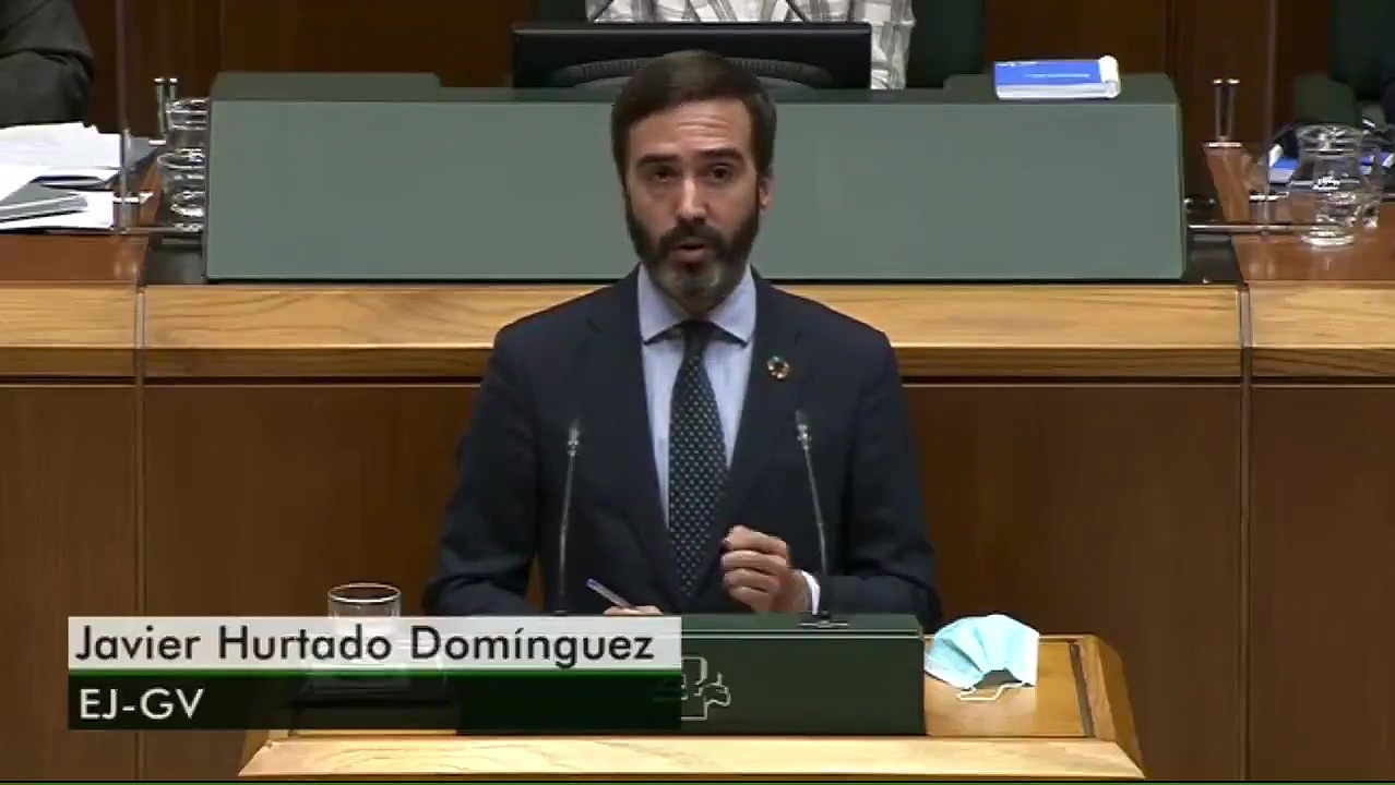 """Javier Hurtado sailburua: """"Baliabideak eta laguntzak bultzatuko dituen aliatu bat izango gara ostalaritzaren sektorearentzat"""" [0:00]"""