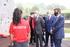 Josu Erkoreka visita las distintas unidades de la Ertzaintza en la base de Iurreta