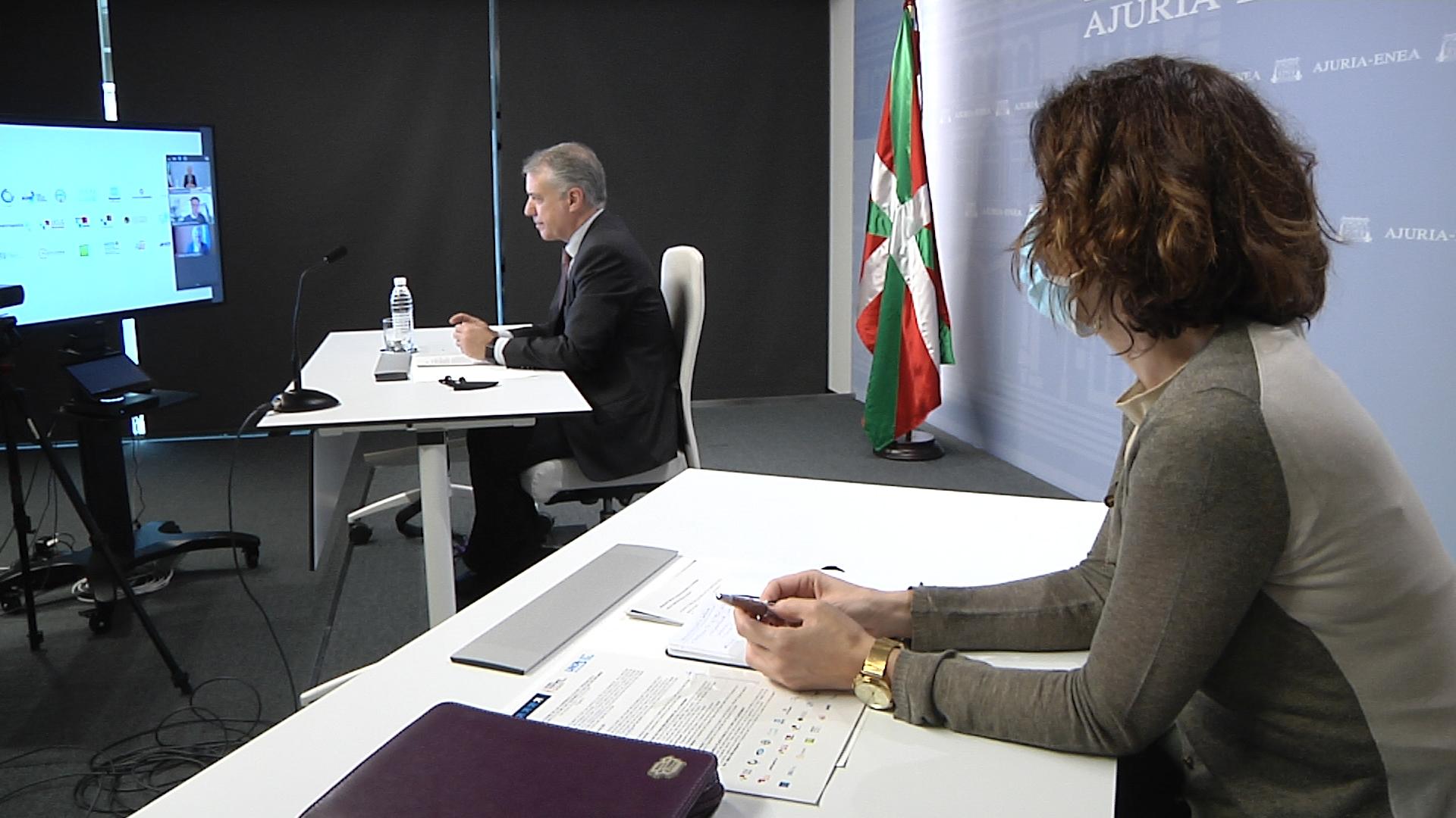El Lehendakari propone la participación directa de los gobiernos regionales en el nuevo modelo de gobernanza de Naciones Unidas [0:00]