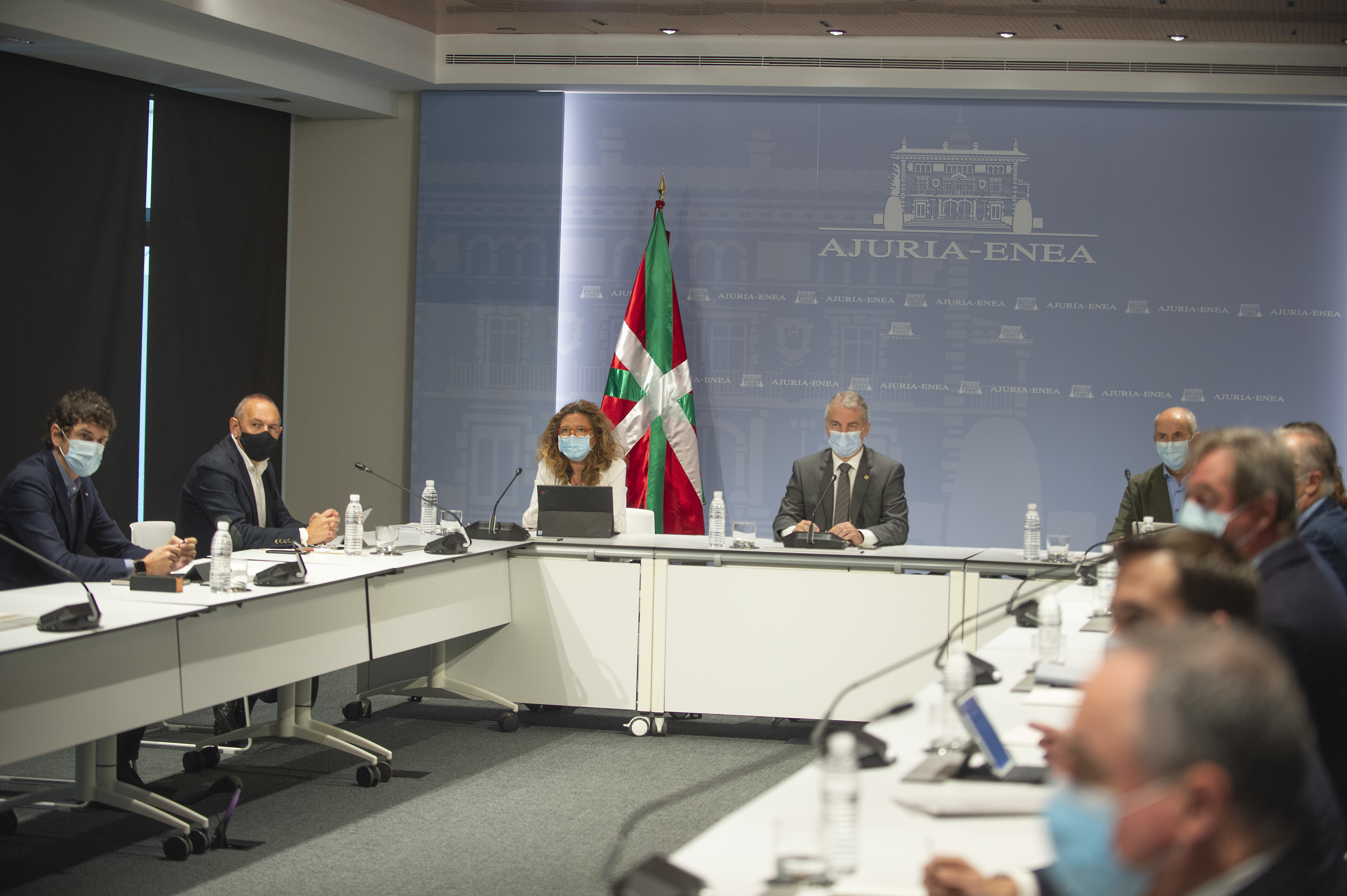 El Lehendakari preside la reunión del  Comité Asesor del LABI [0:00]