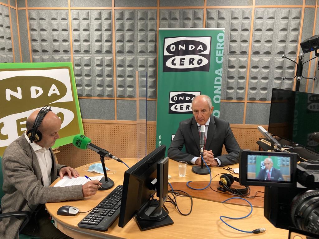 """Josu Erkoreka entrevistado en el programa """"Más de uno Euskadi"""" Onda Cero [0:00]"""