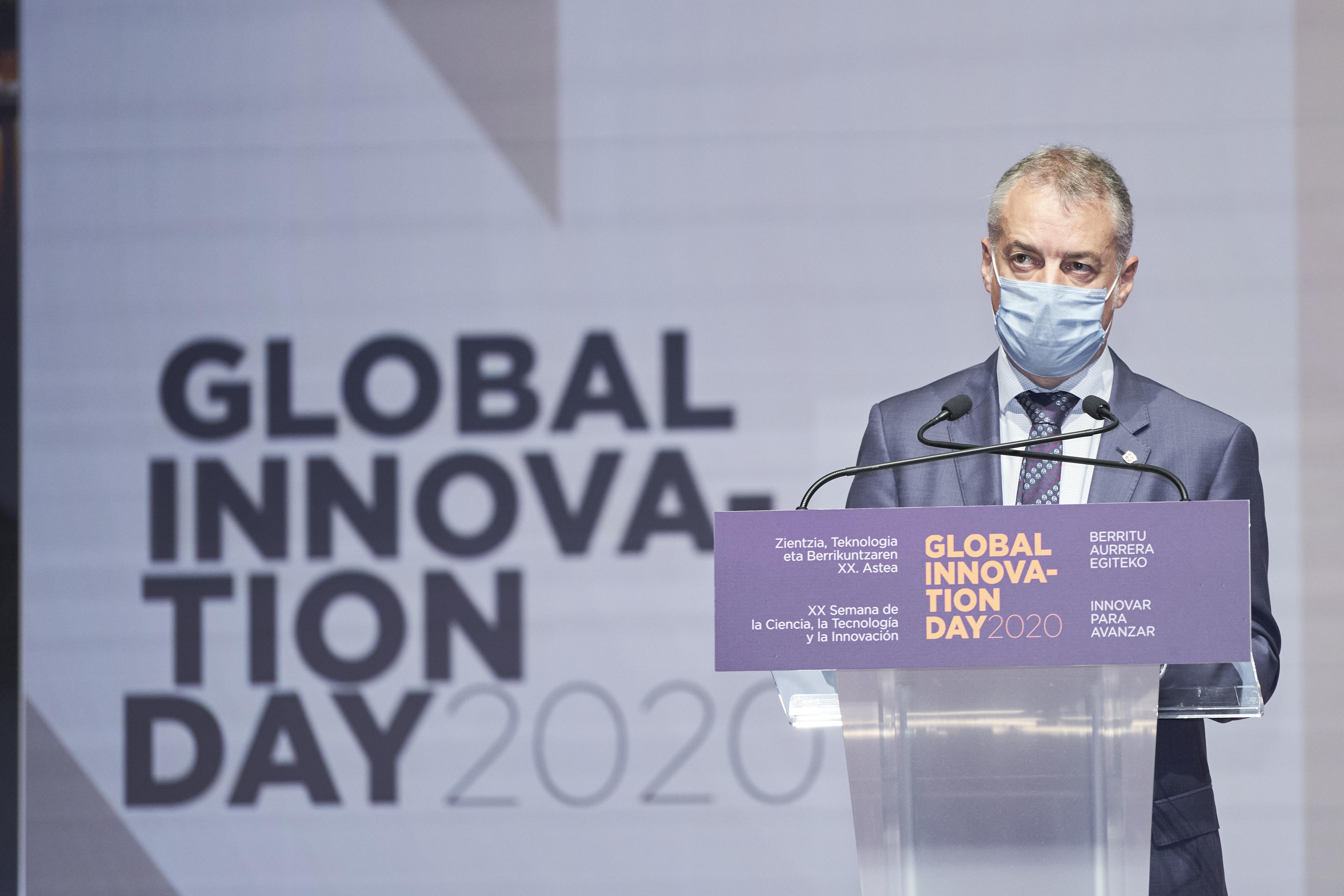 """Lehendakari: """"El reto es avanzar como Territorio atractivo para la investigación, la innovación y el talento"""" [0:00]"""