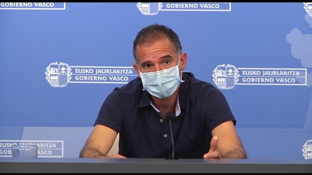 El coordinador del Programa de Vigilancia y Control analiza la situación epidemiológica en Euskadi [0:00]