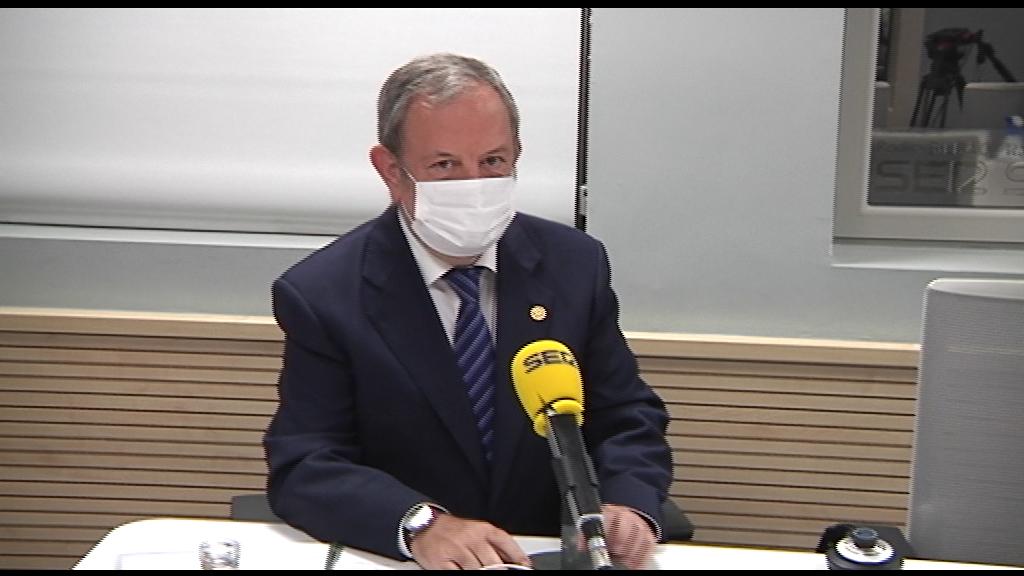 """Pedro Azpiazu: """"Este momento, el gasto total derivado de la crisis del Covid-19 ronda los 1.000 M/€"""" [0:00]"""