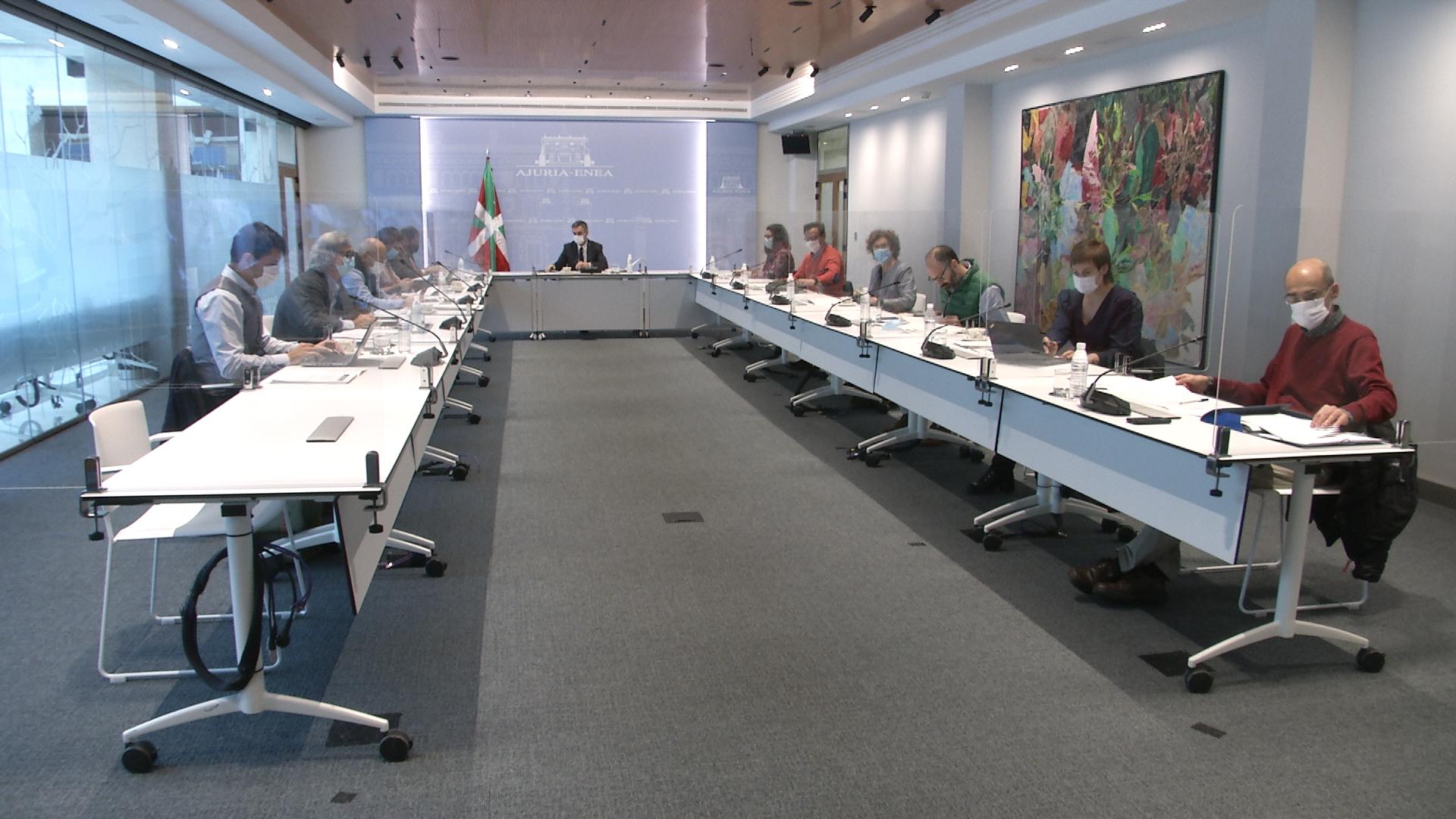 Jonan Fernández preside la reunión de la Comisión Técnica del Consejo Asesor del LABI [0:00]