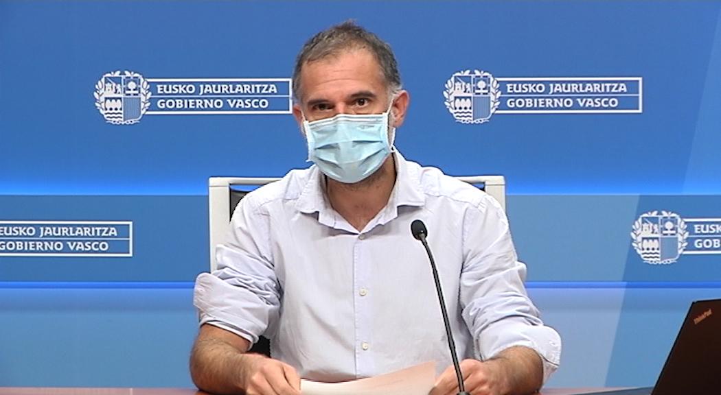 El coordinador del Programa de Vigilancia y Control analiza la situación epidemiológica en Euskadi [17:50]