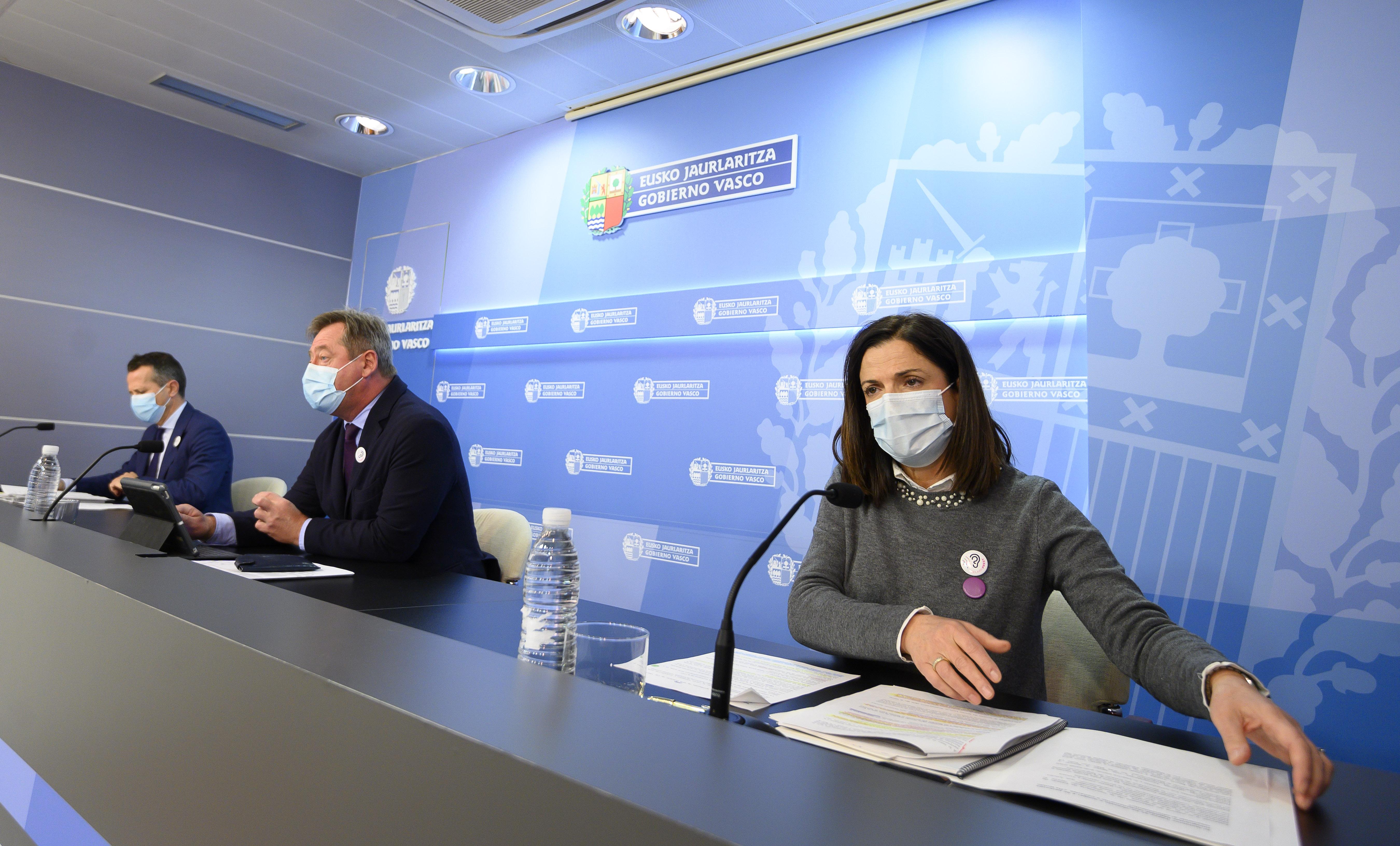 El Gobierno Vasco reitera el compromiso de seguir trabajando para avanzar en una sociedad libre de violencia contra las mujeres y ofrecer una atención debida a las mujeres víctimas de violencia [70:00]