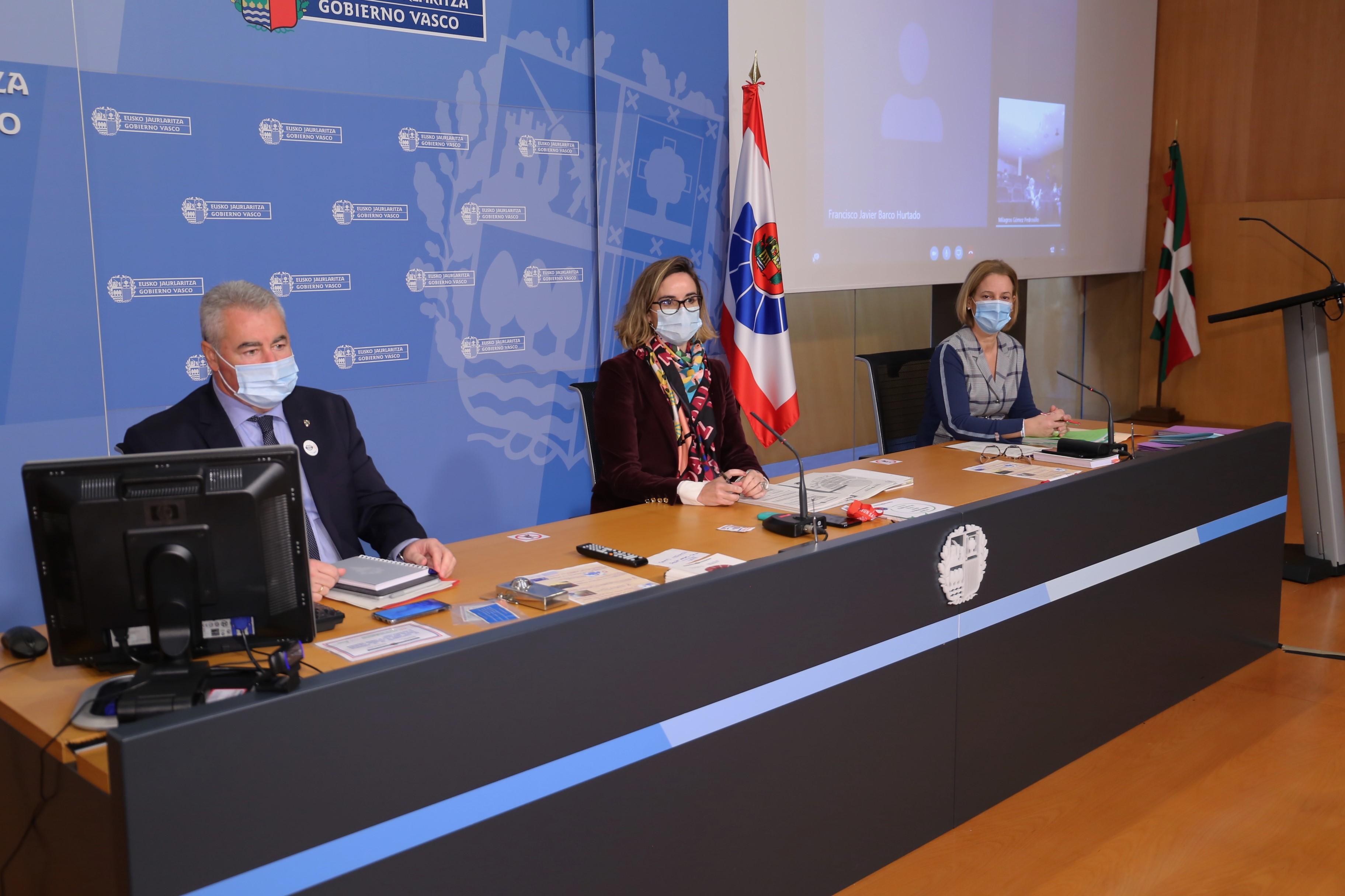 El Gobierno Vasco agradece y valora muy positivamente el clima de diálogo y entendimiento en el que se ha desarrollado la primera mesa negociación de la Ertzaintza de esta legislatura [0:53]