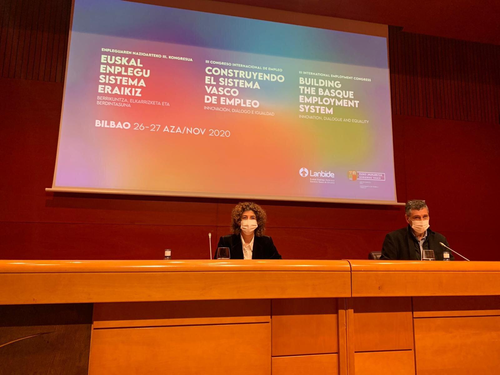 El III Congreso de Empleo de Euskadi sentará las bases en las que construir el Sistema Vasco de Empleo [8:22]