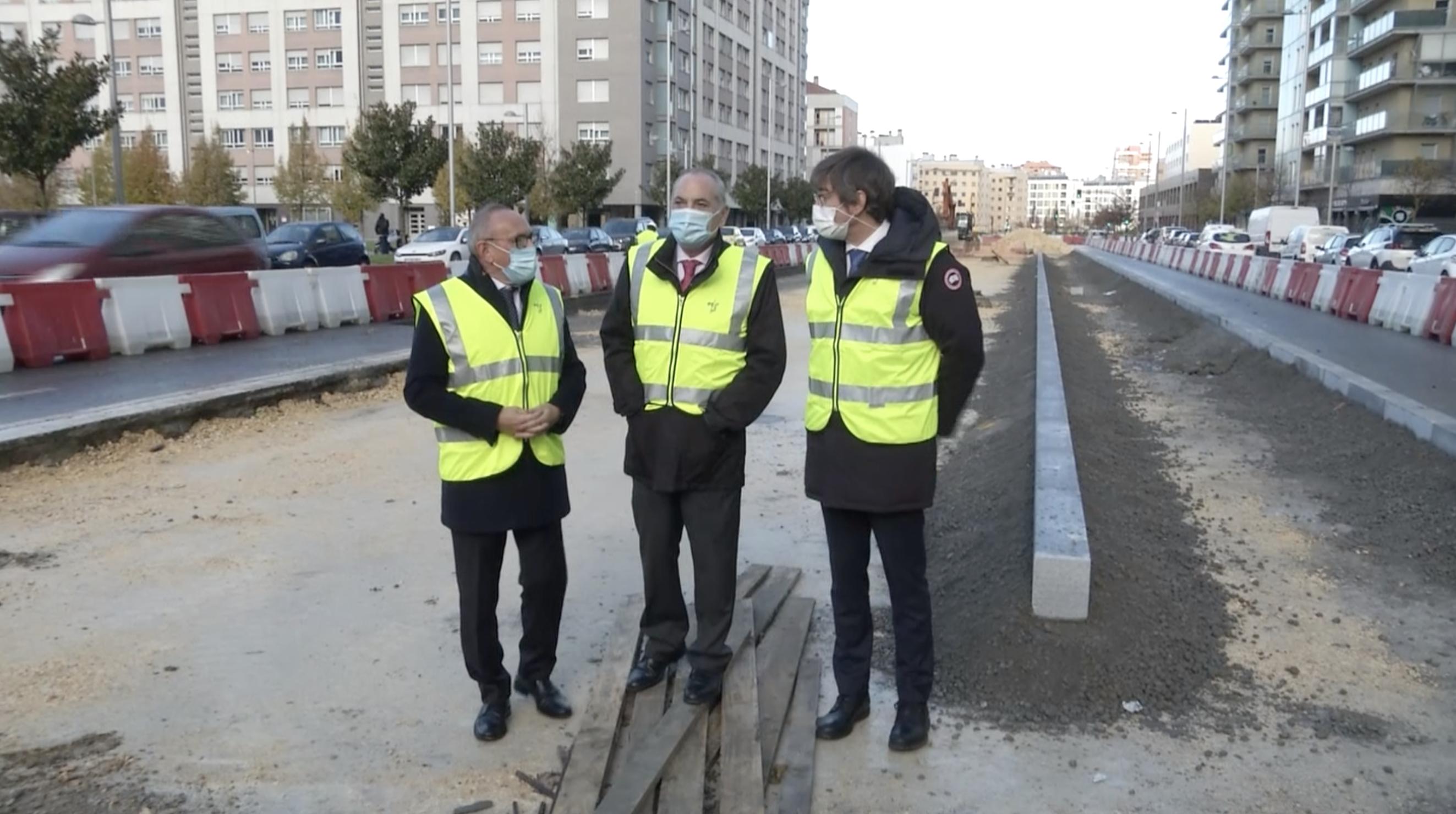 La construcción de la plataforma del tranvía a Salburua arrancará en enero [8:19]