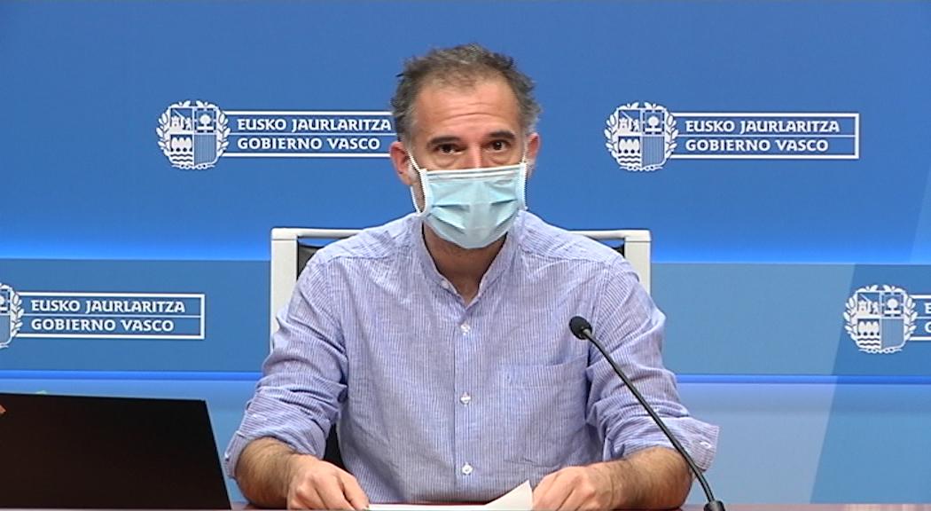 El coordinador del Programa de Vigilancia y Control analiza la situación epidemiológica en Euskadi [21:55]