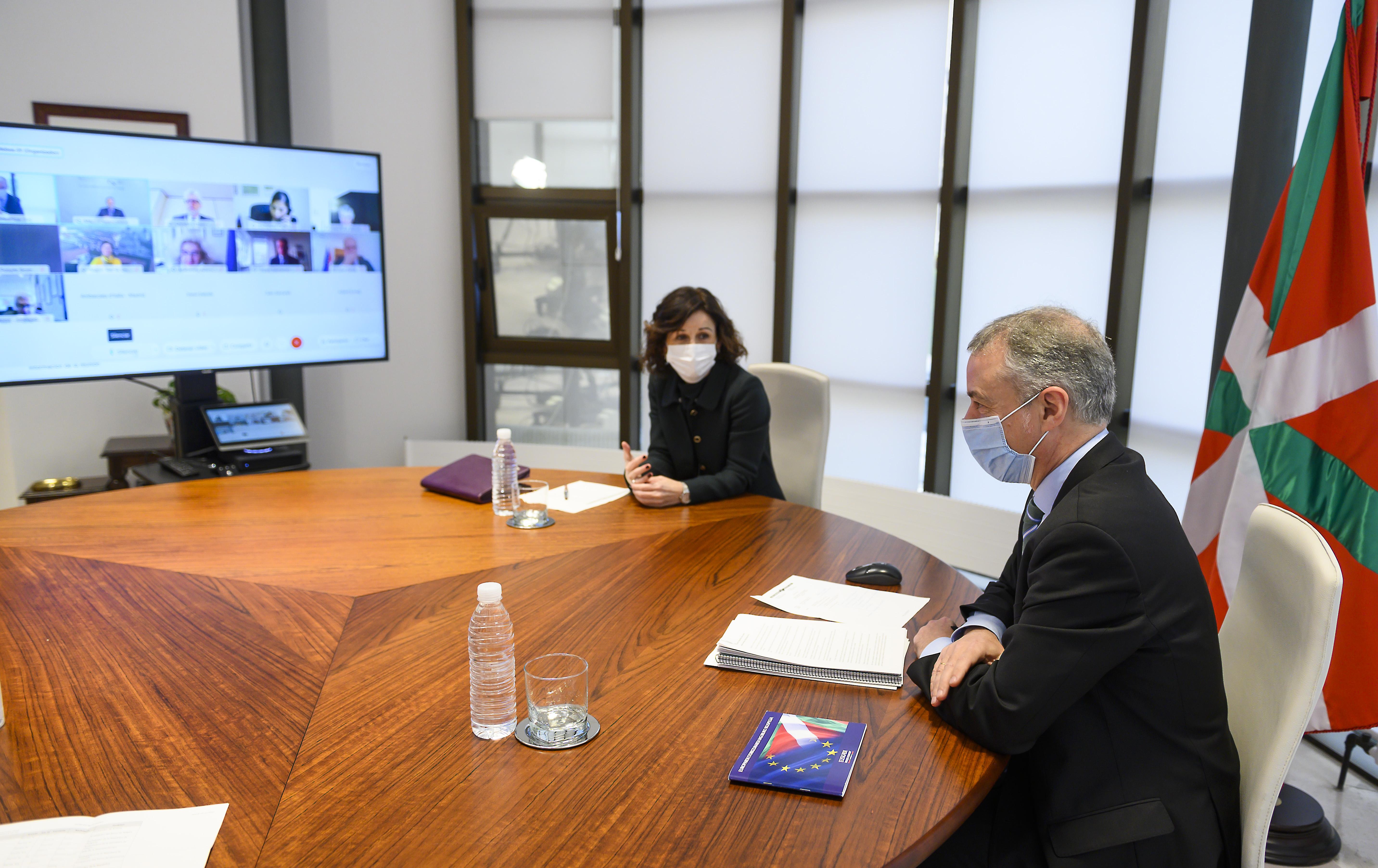 El Lehendakari aboga por una nueva forma de hacer política basada en el diálogo y la negociación [0:00]