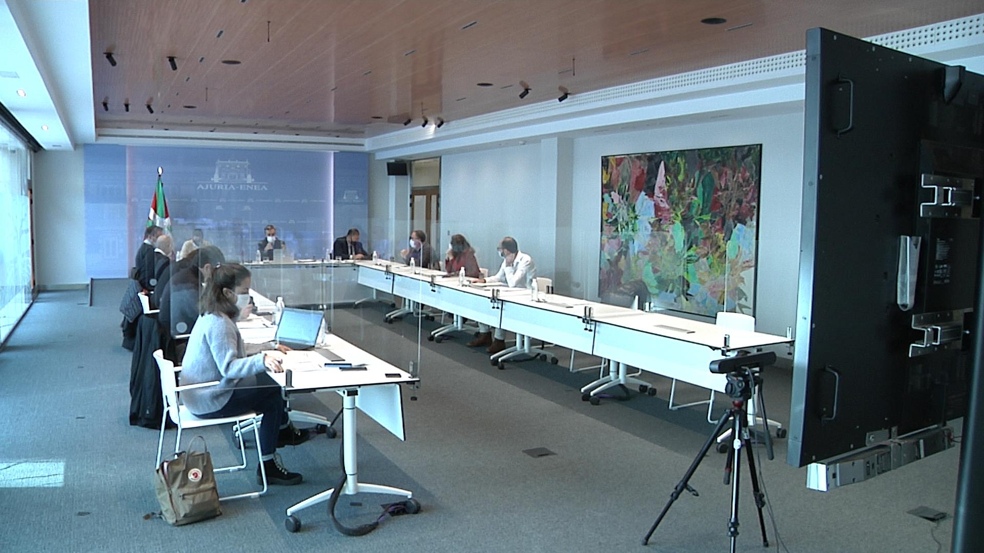 Jonan Fernández preside la reunión de la Comisión Técnica del Consejo Asesor del LABI [3:14]