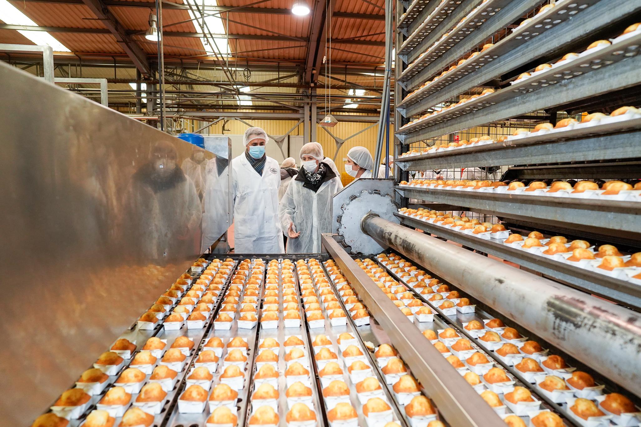 Tuesta Bakery contempla unas inversiones de 2 millones de euros para poner en marcha sus cuatro líneas de fabricación de pan y bollería en Valdegovía [9:51]