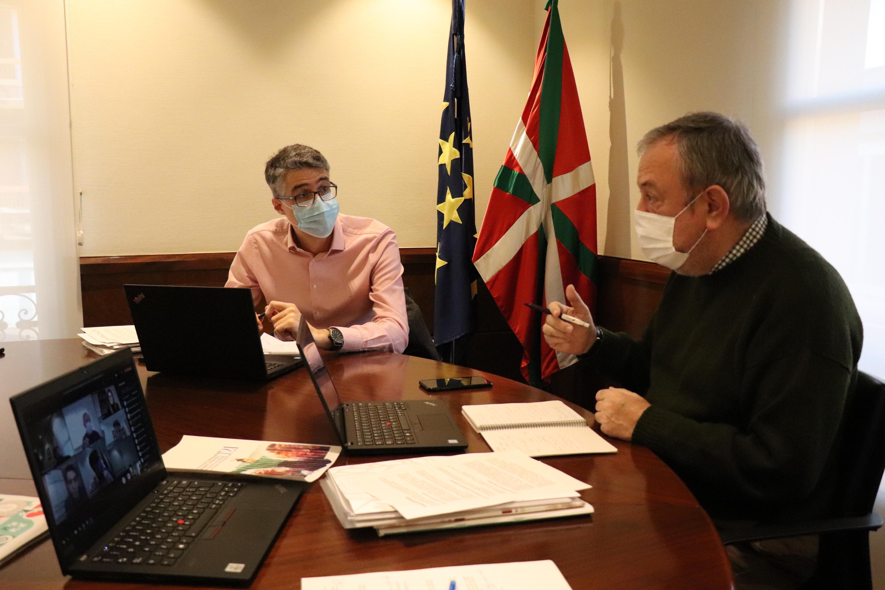 Tercera reunión de negociación (por videoconferencia) con el grupo parlamentario ELKARREKIN PODEMOS+IU sobre el presupuesto de la CAV de 2021 [4:46]