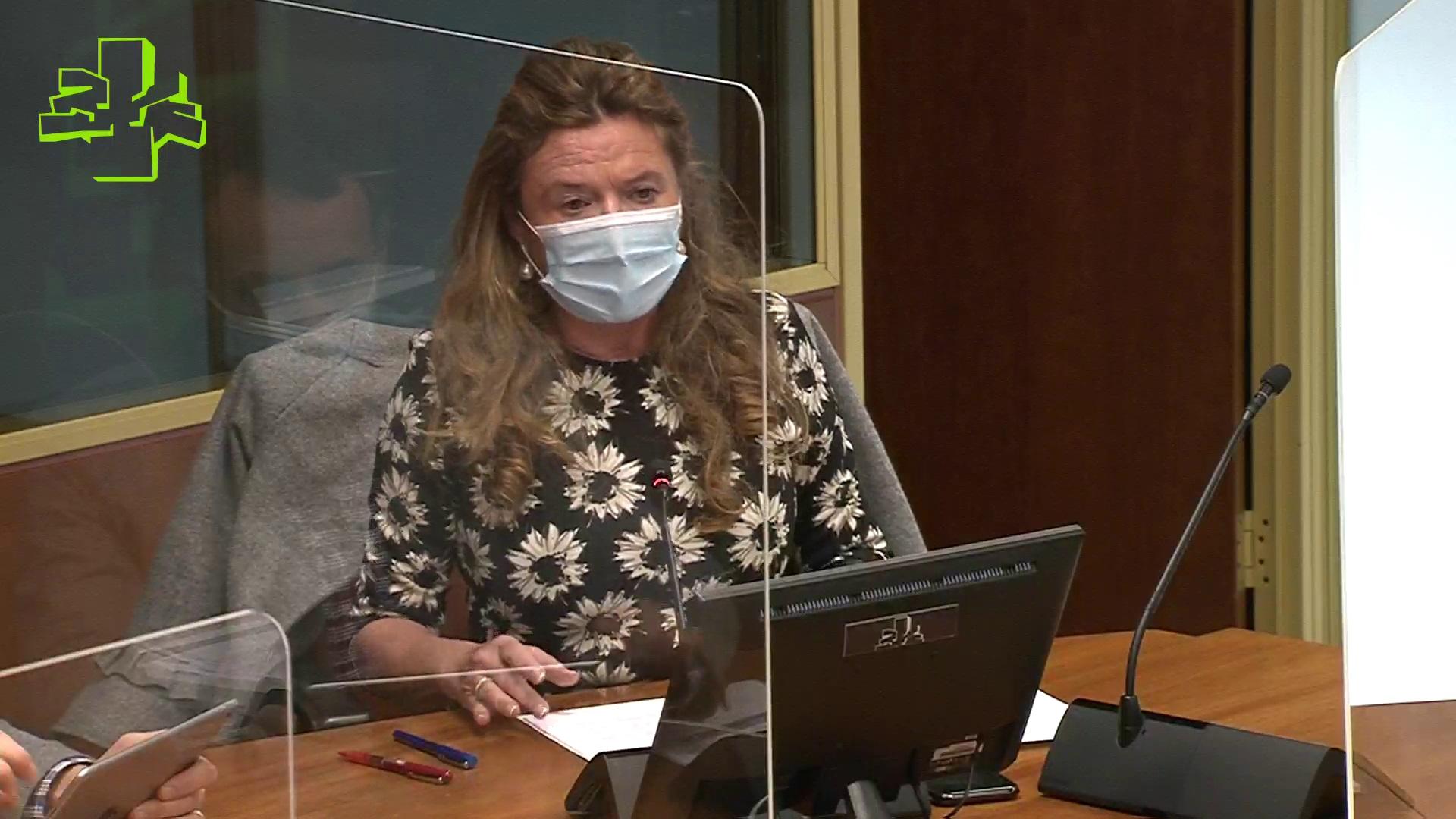 Osasun Batzordea: Sailburuak pandemiaren bilakaeraren berri eman du (2021/01/20) [56:48]