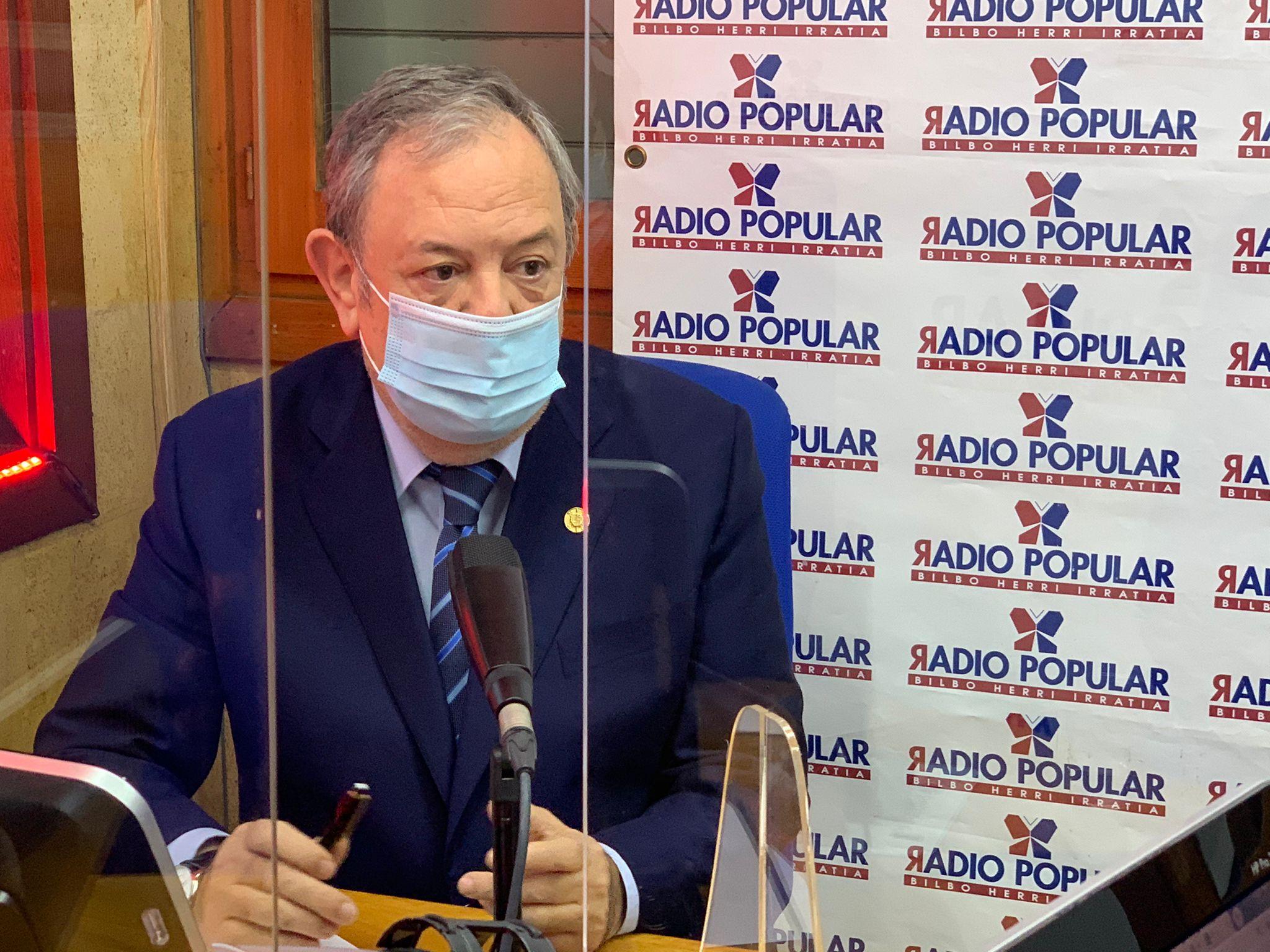 """Pedro Azpiazu: """"En materia de salud se van a poner todos los recursos que hagan falta para salir de esta situación"""" [22:20]"""
