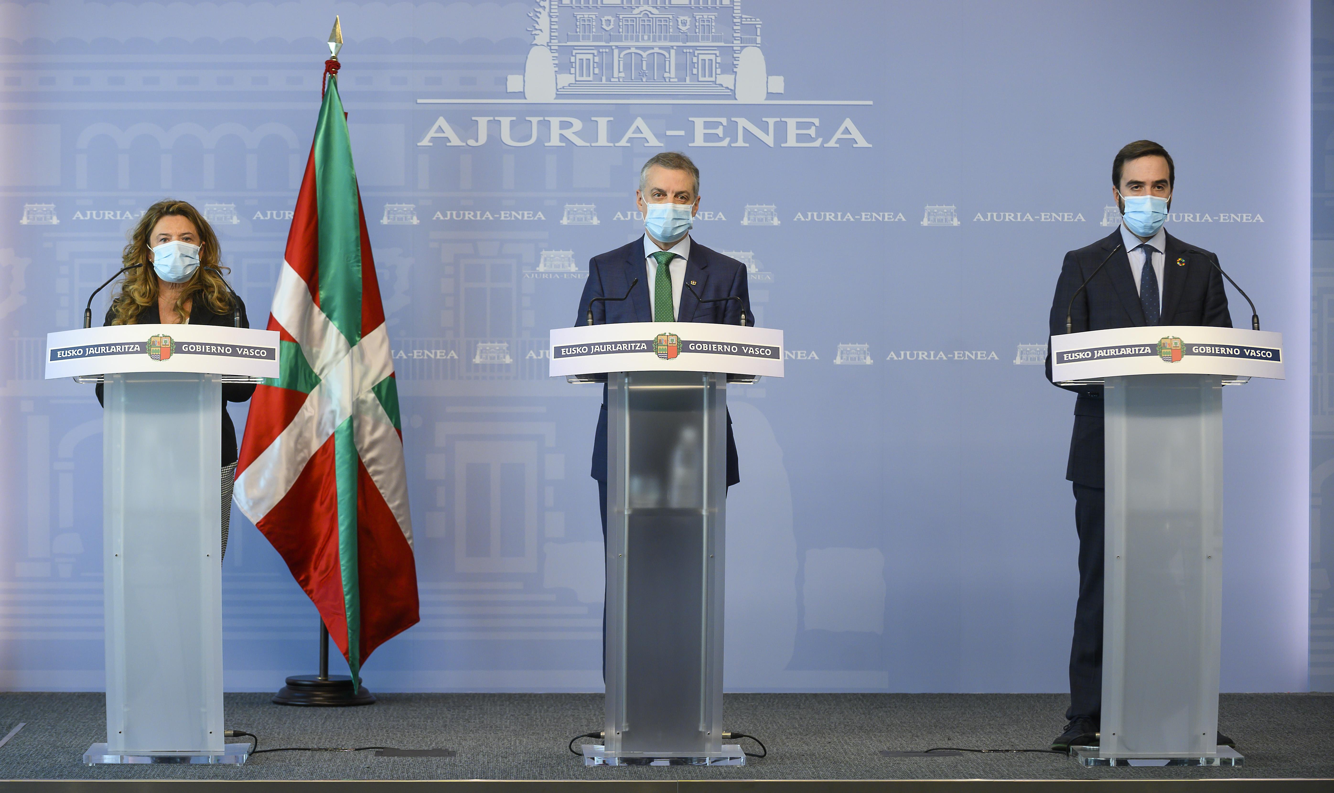 Eusko Jaurlaritzak 21 milioi euro bideratuko ditu turismoaren sektorea babestera  [70:54]