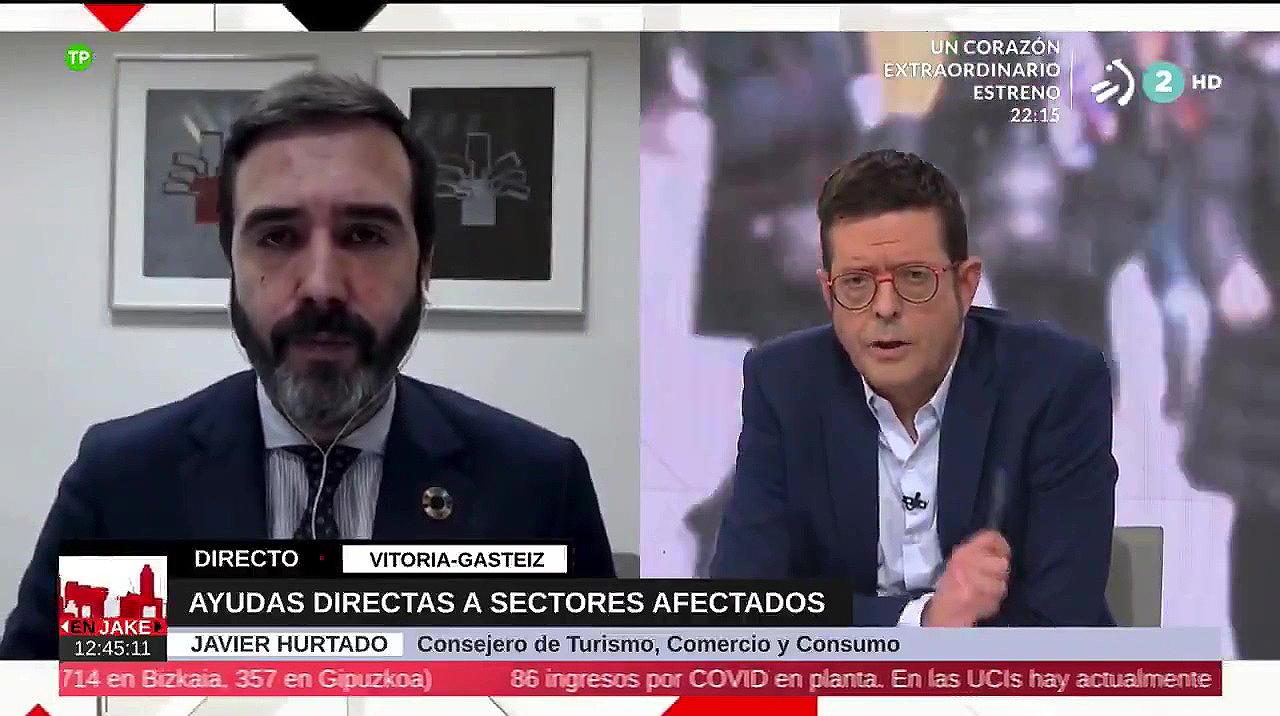 """Consejero Javier Hurtado: """"Hemos agilizado los procedimientos de ayudas al sector para que lleguen de una manera más ágil y eficaz"""" [9:49]"""