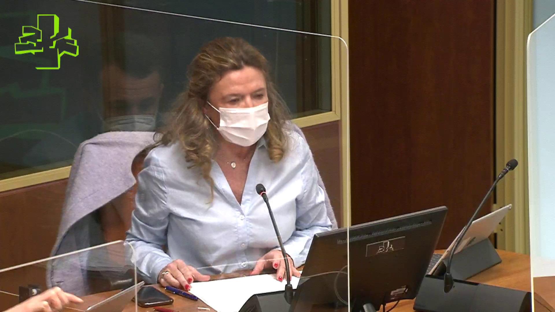 Comisión de Salud: iniciada la vacunación con Astra Zéneca en Euskadi [131:47]