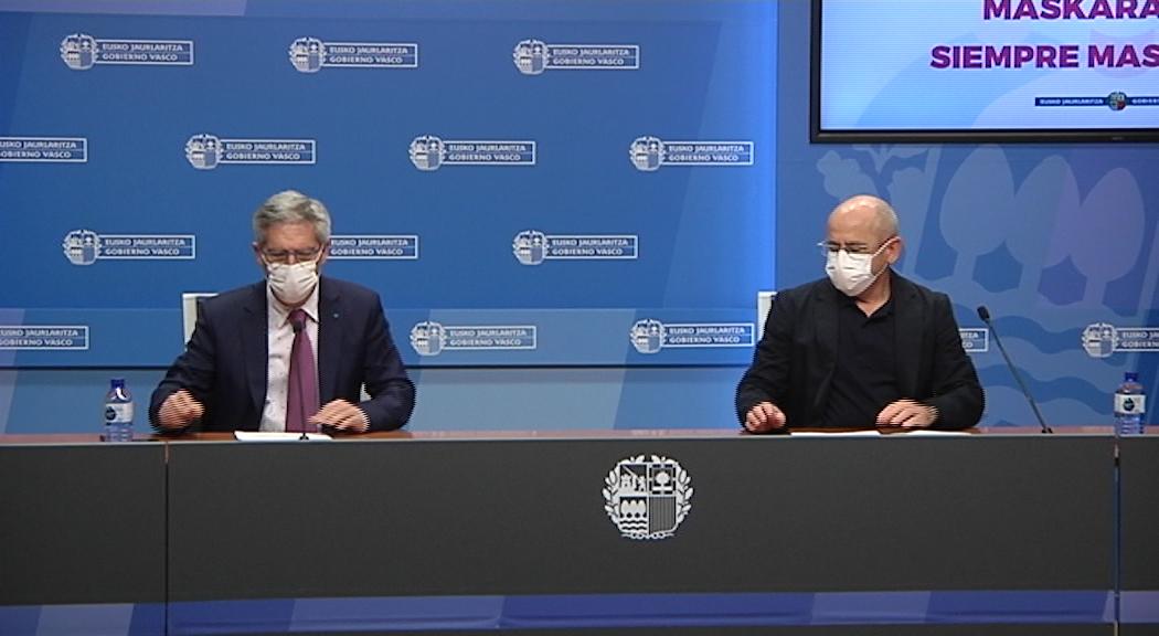 Osakidetza inicia la vacunación contra la Covid-19 en el colectivo de personas mayores [22:58]