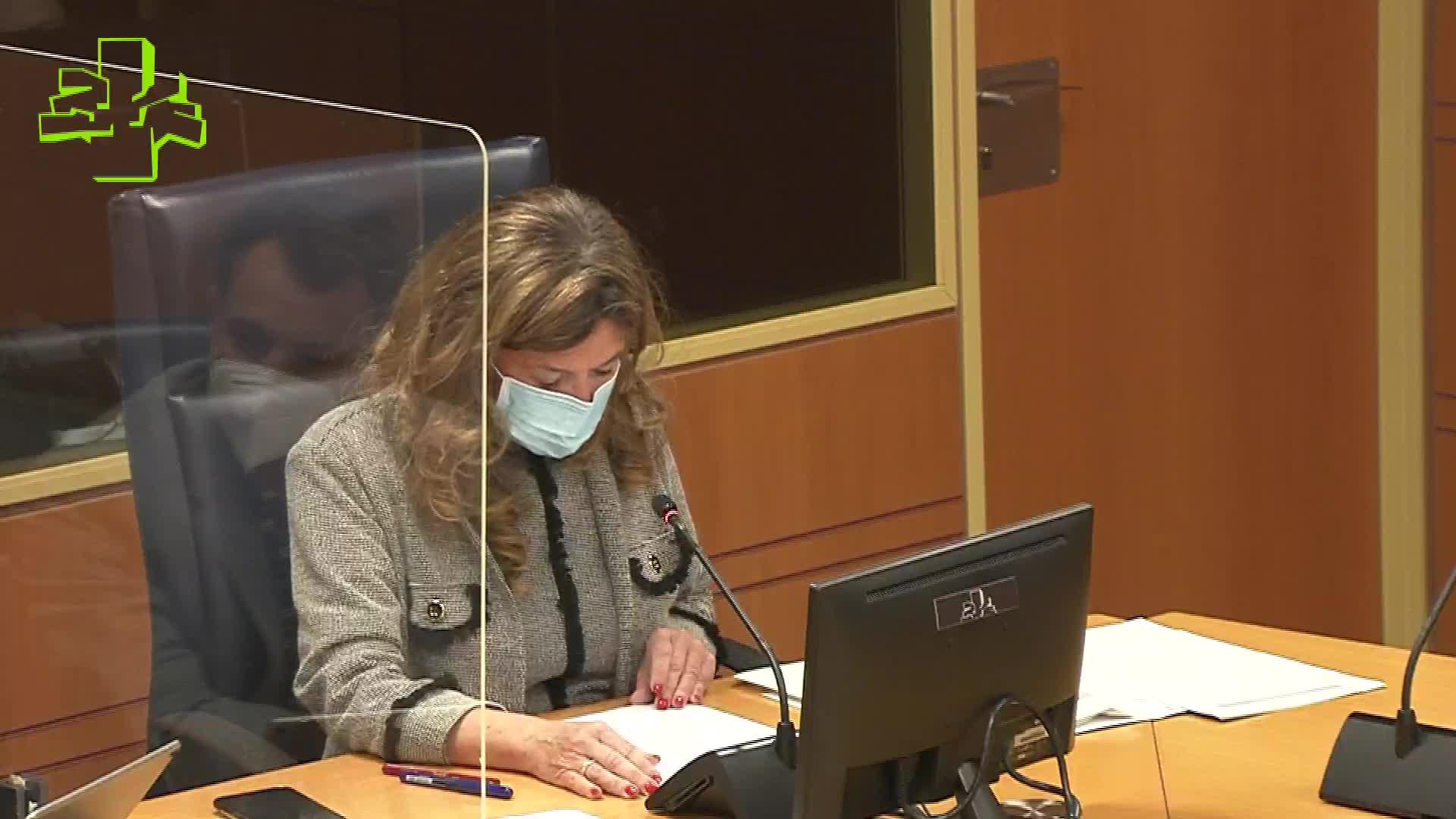 Comisión de Salud: la Consejera informa sobre la evolución de la pandemia [119:12]