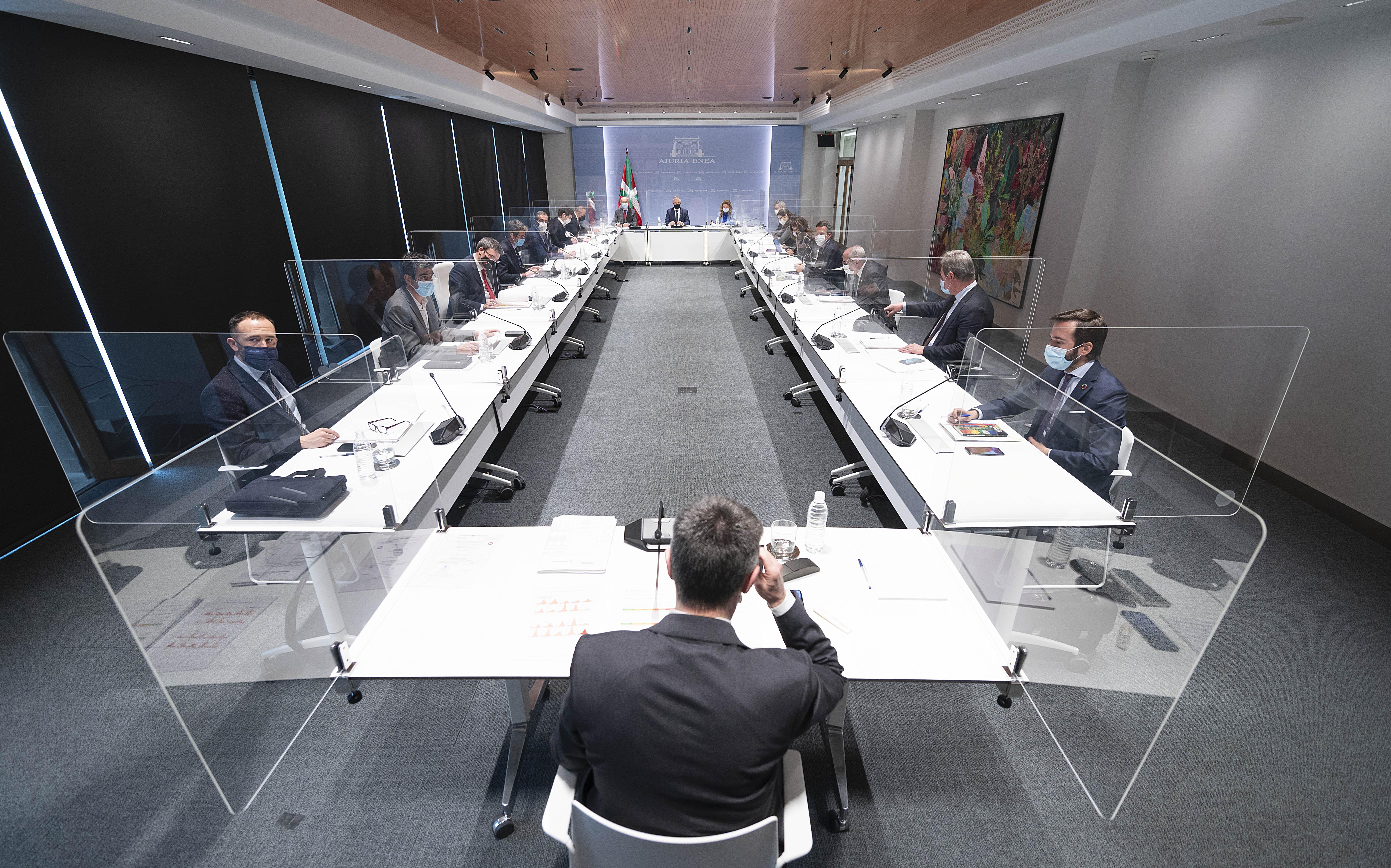 El Lehendakari preside la reunión del Comité Asesor del LABI [1:44]